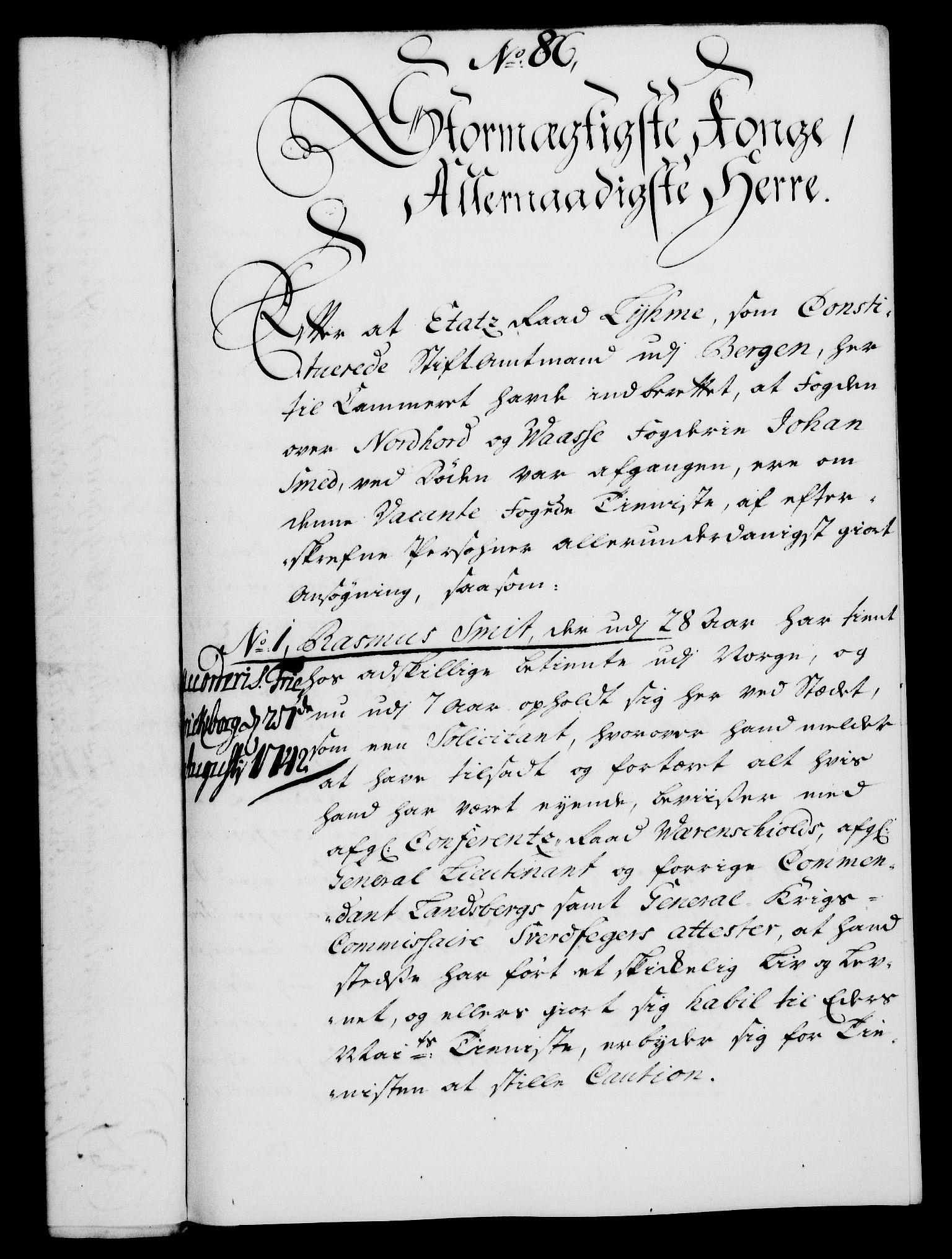 RA, Rentekammeret, Kammerkanselliet, G/Gf/Gfa/L0025: Norsk relasjons- og resolusjonsprotokoll (merket RK 52.25), 1742, s. 549