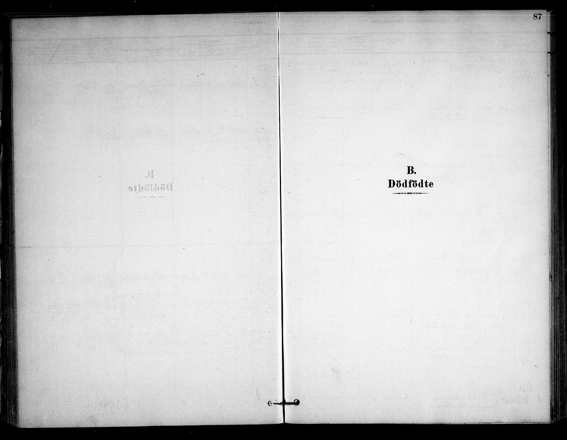 SAO, Sørum prestekontor Kirkebøker, F/Fb/L0001: Ministerialbok nr. II 1, 1878-1915, s. 87