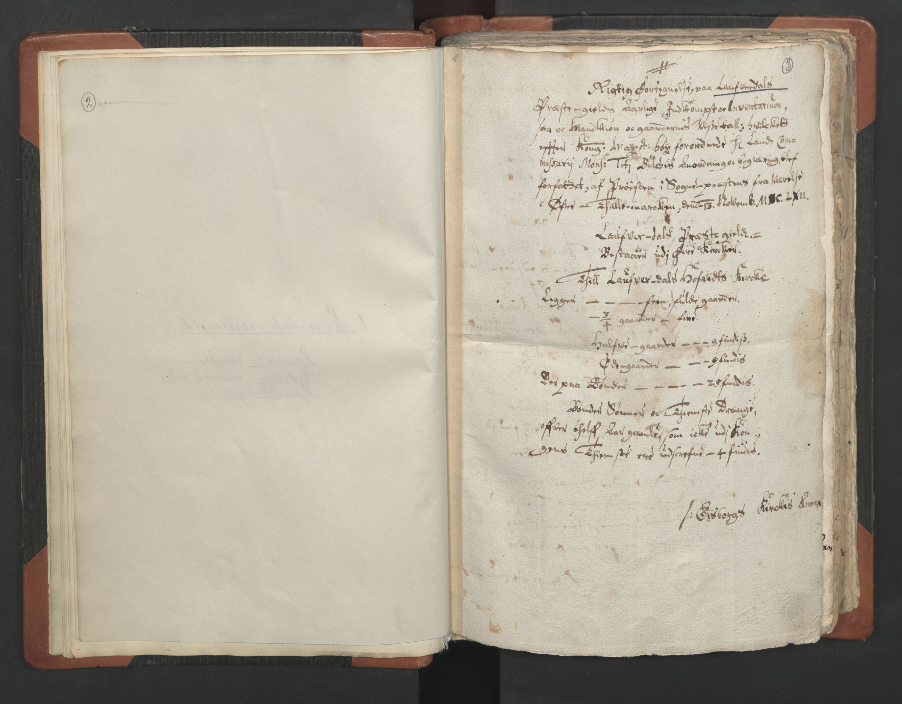 RA, Sogneprestenes manntall 1664-1666, nr. 12: Øvre Telemark prosti, Nedre Telemark prosti og Bamble prosti, 1664-1666, s. 2-3