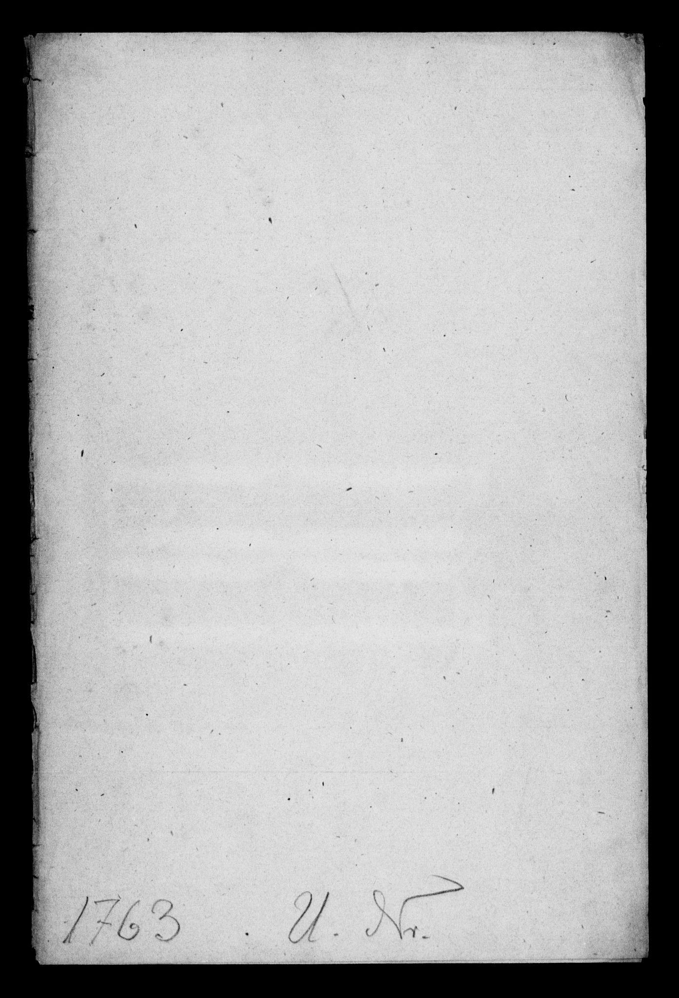 DRA, Generalkirkeinspektionskollegiet, F4-08/F4-08-10: Indkomne sager, 1763