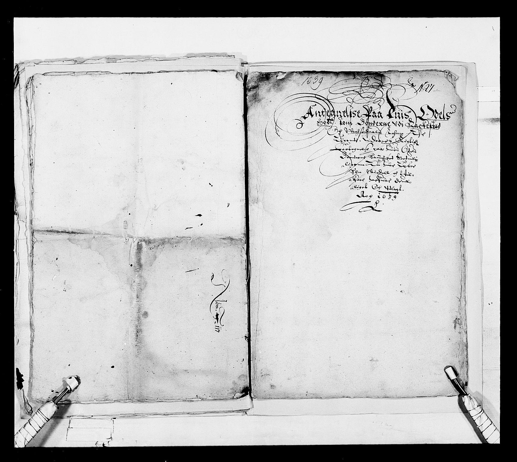 RA, Stattholderembetet 1572-1771, Ek/L0018: Jordebøker 1633-1658:, 1639, s. 9