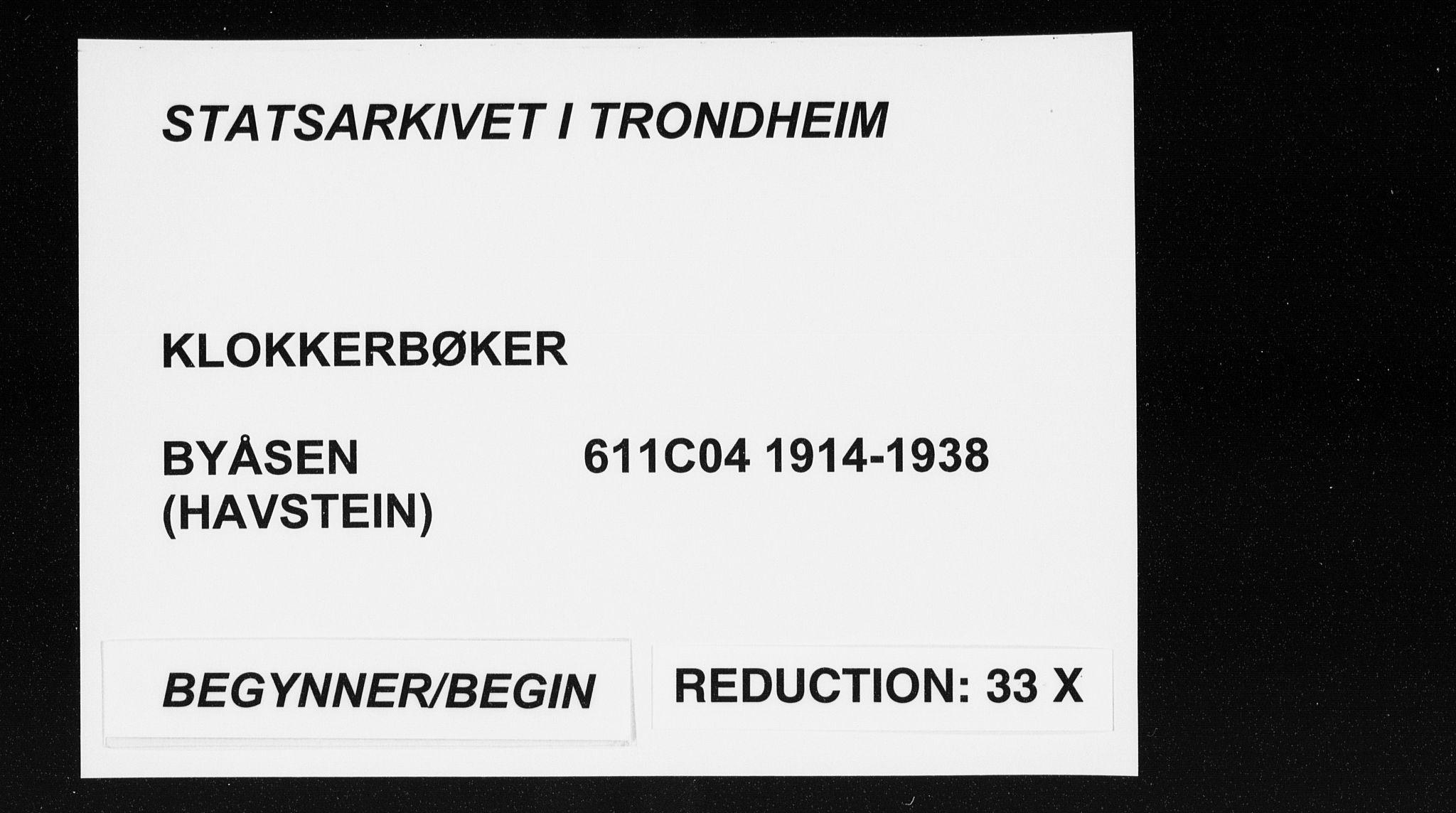 SAT, Ministerialprotokoller, klokkerbøker og fødselsregistre - Sør-Trøndelag, 611/L0356: Klokkerbok nr. 611C04, 1914-1938