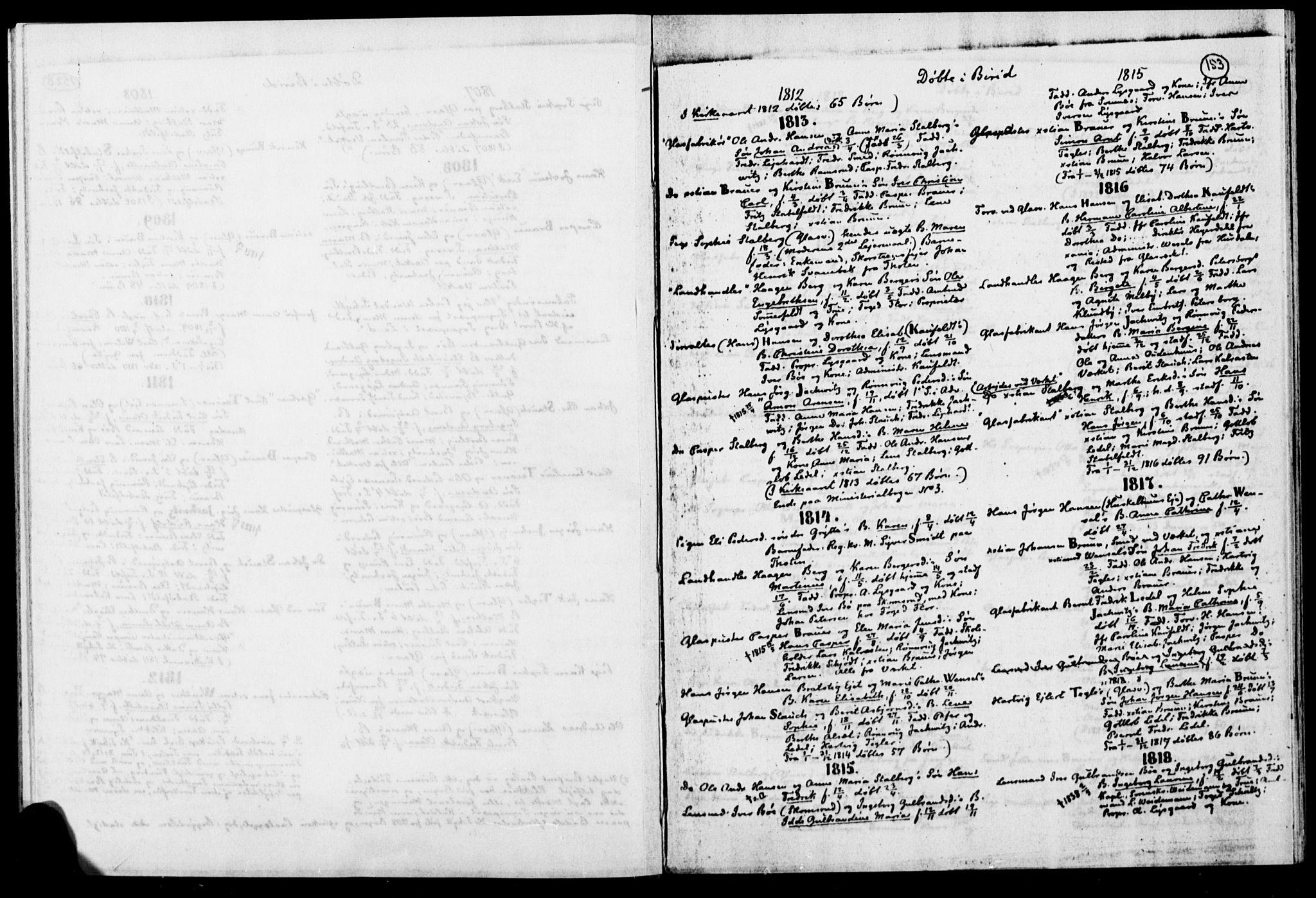 SAH, Biri prestekontor, Ministerialbok, 1730-1879, s. 153