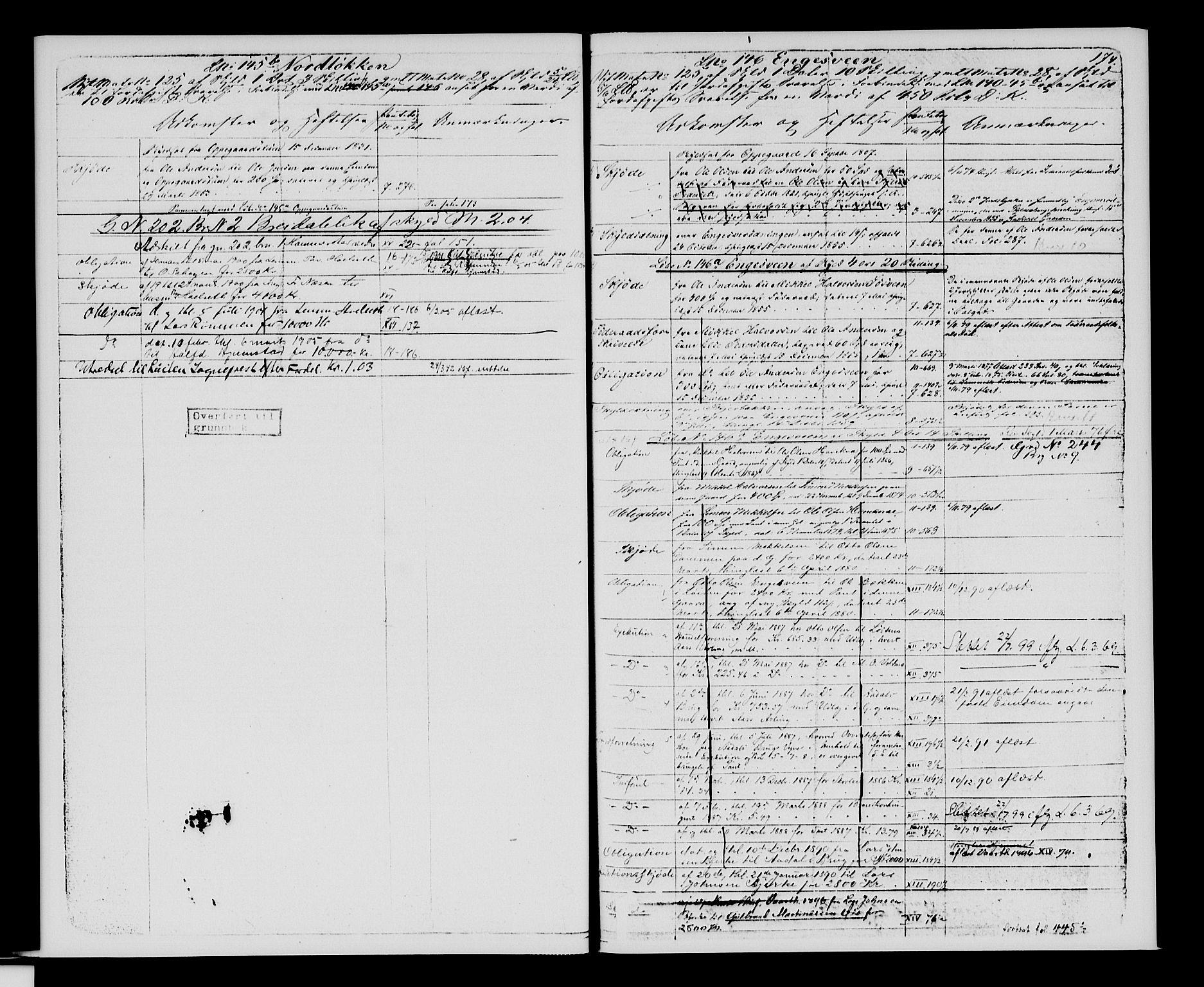 SAH, Sør-Hedmark sorenskriveri, H/Ha/Hac/Hacc/L0001: Panteregister nr. 3.1, 1855-1943, s. 174