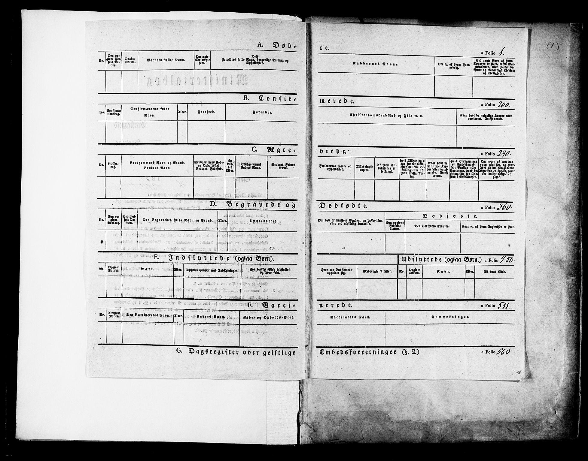 SAKO, Solum kirkebøker, F/Fa/L0006: Ministerialbok nr. I 6, 1844-1855, s. 1