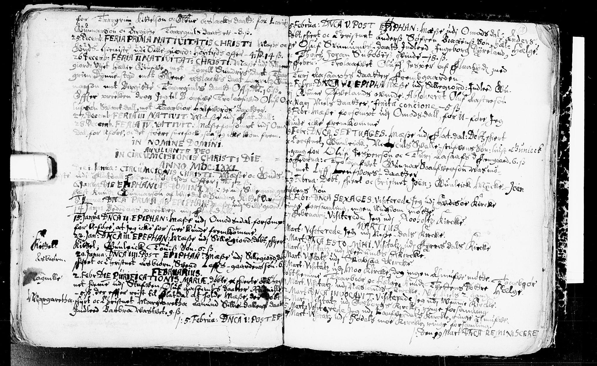 SAKO, Seljord kirkebøker, F/Fa/L0001: Ministerialbok nr. I 1, 1654-1686, s. 68