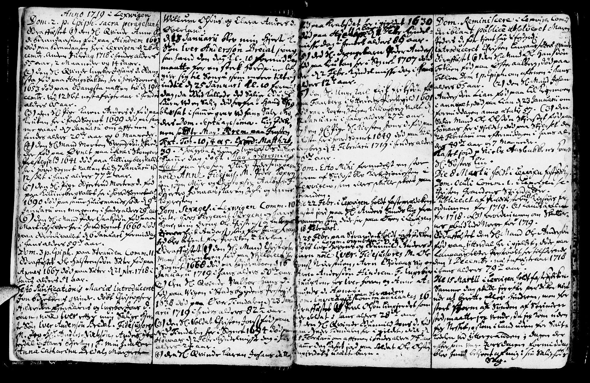 SAT, Ministerialprotokoller, klokkerbøker og fødselsregistre - Nord-Trøndelag, 701/L0001: Ministerialbok nr. 701A01, 1717-1731, s. 5