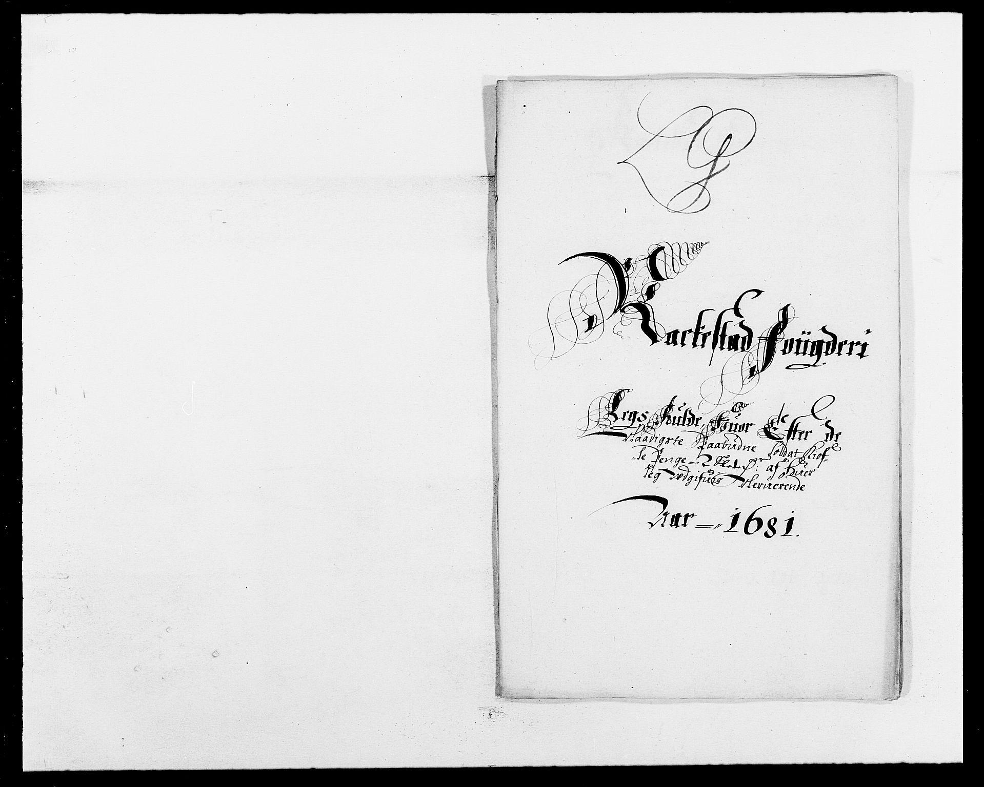 RA, Rentekammeret inntil 1814, Reviderte regnskaper, Fogderegnskap, R05/L0272: Fogderegnskap Rakkestad, 1680-1681, s. 361