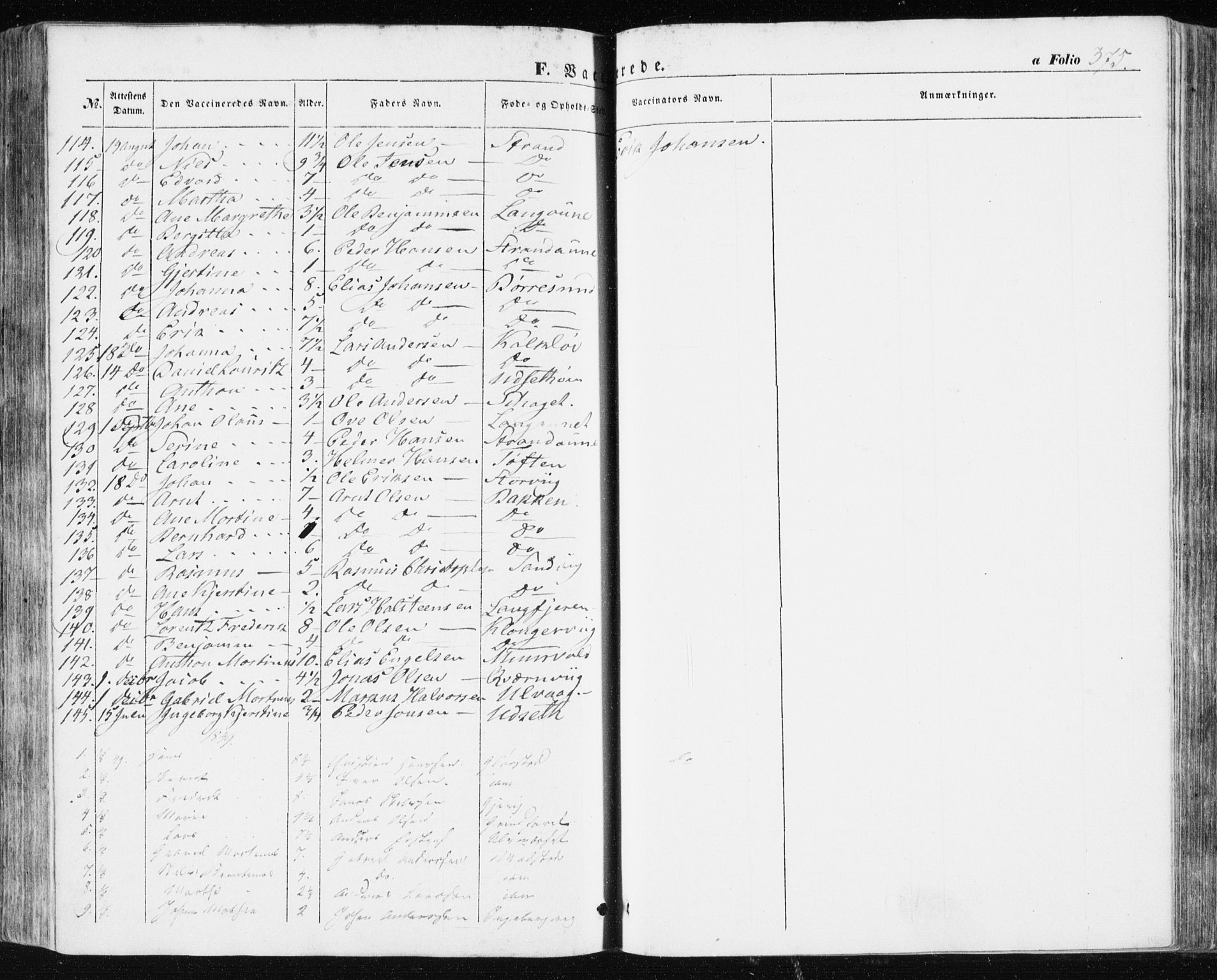 SAT, Ministerialprotokoller, klokkerbøker og fødselsregistre - Sør-Trøndelag, 634/L0529: Ministerialbok nr. 634A05, 1843-1851, s. 375