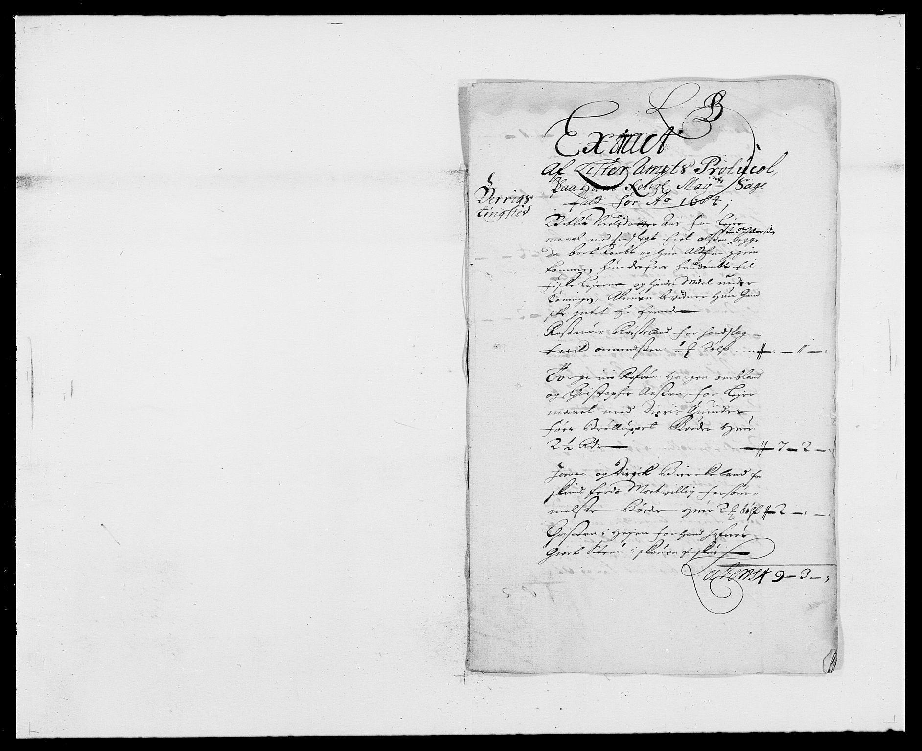 RA, Rentekammeret inntil 1814, Reviderte regnskaper, Fogderegnskap, R41/L2533: Fogderegnskap Lista, 1684-1685, s. 54