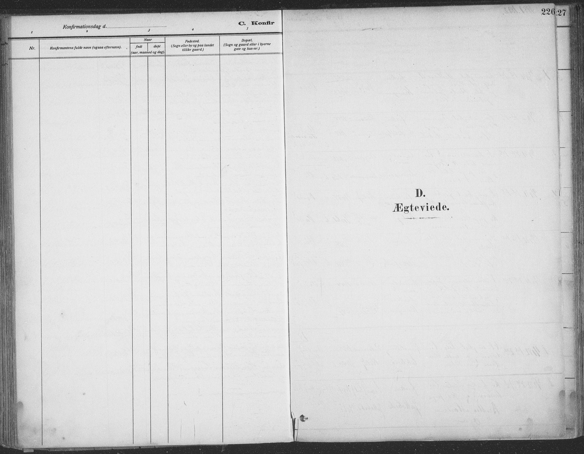 SATØ, Vadsø sokneprestkontor, H/Ha/L0009kirke: Ministerialbok nr. 9, 1881-1917, s. 226