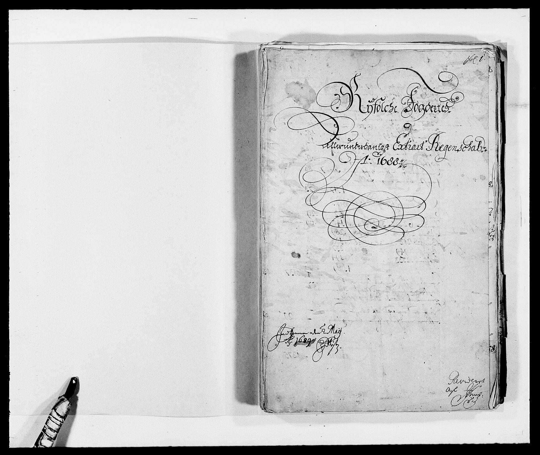 RA, Rentekammeret inntil 1814, Reviderte regnskaper, Fogderegnskap, R47/L2855: Fogderegnskap Ryfylke, 1685-1688, s. 331