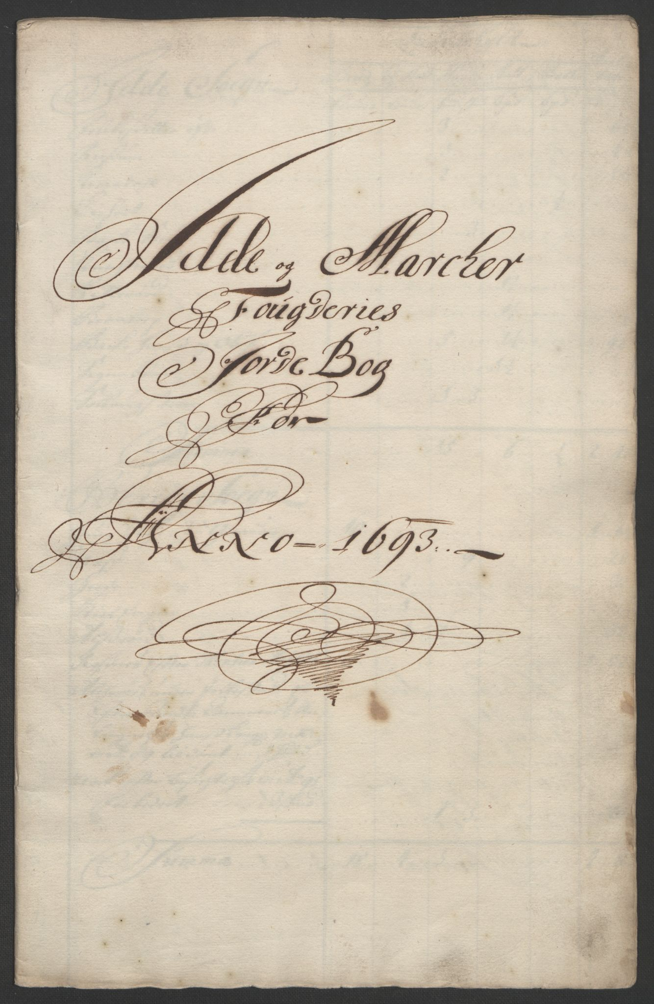 RA, Rentekammeret inntil 1814, Reviderte regnskaper, Fogderegnskap, R01/L0011: Fogderegnskap Idd og Marker, 1692-1693, s. 211