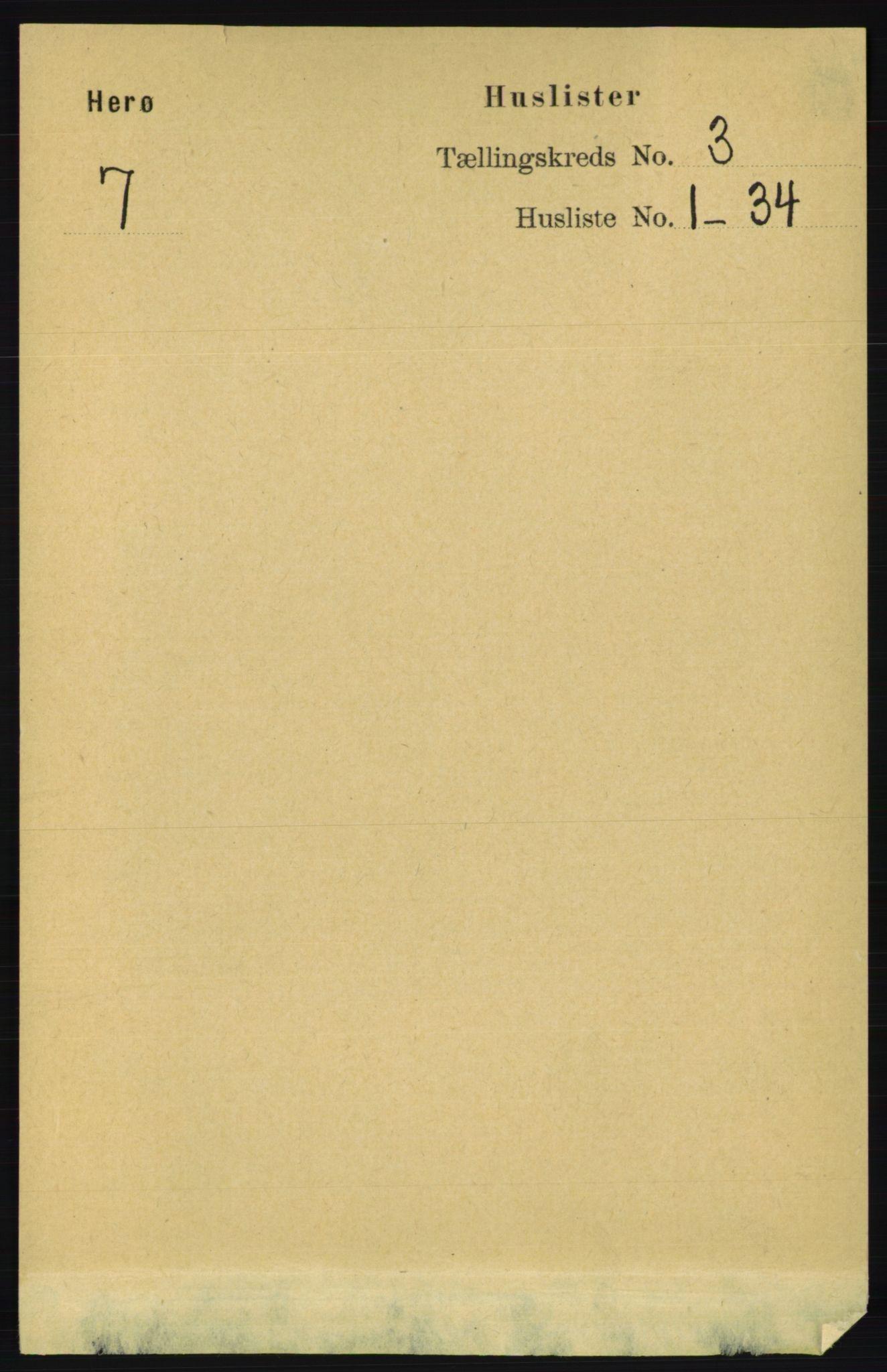 RA, Folketelling 1891 for 1818 Herøy herred, 1891, s. 582