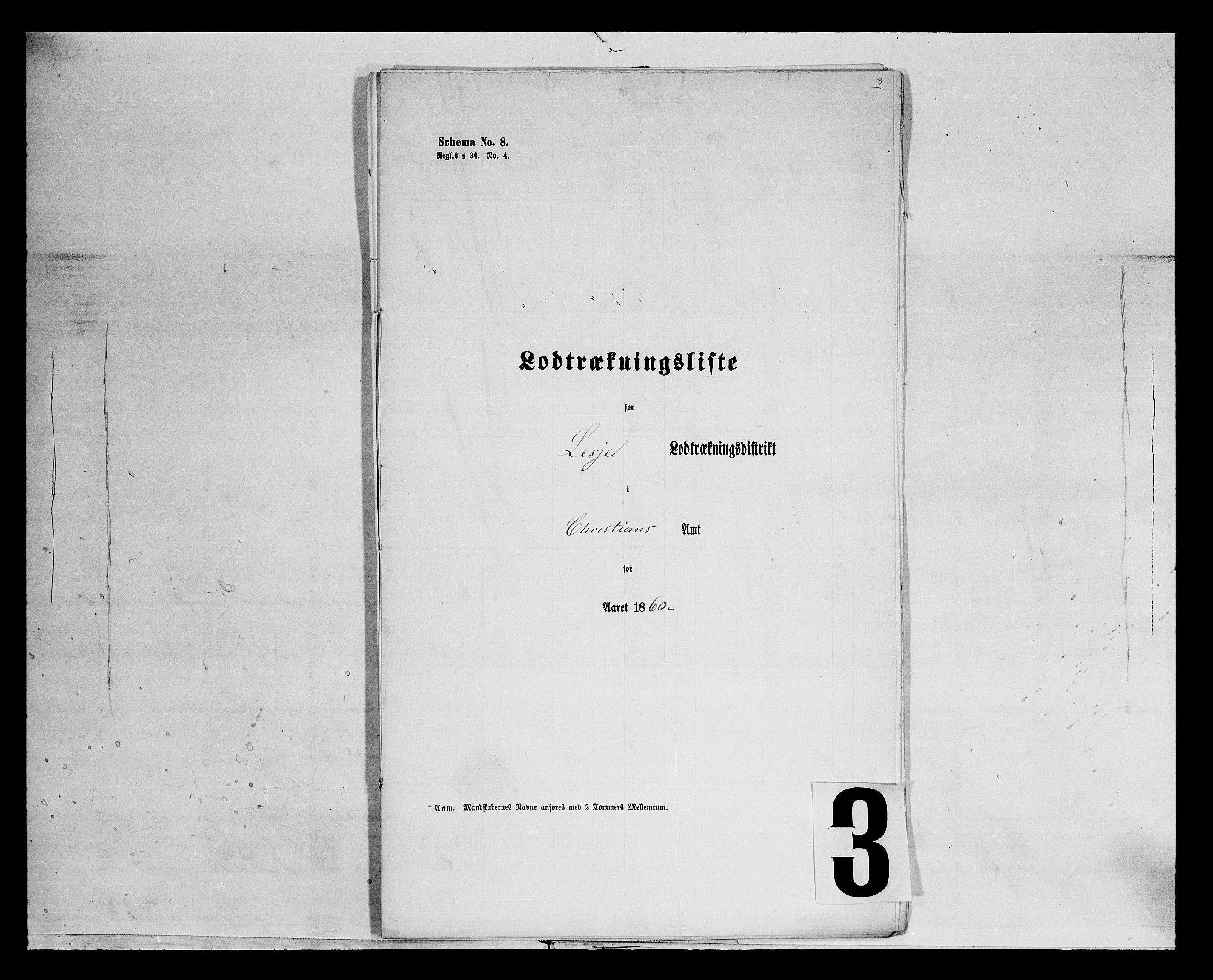 SAH, Fylkesmannen i Oppland, K/Kg/L1176: Lesja og Dovre og hele amtet, 1860-1880, s. 1