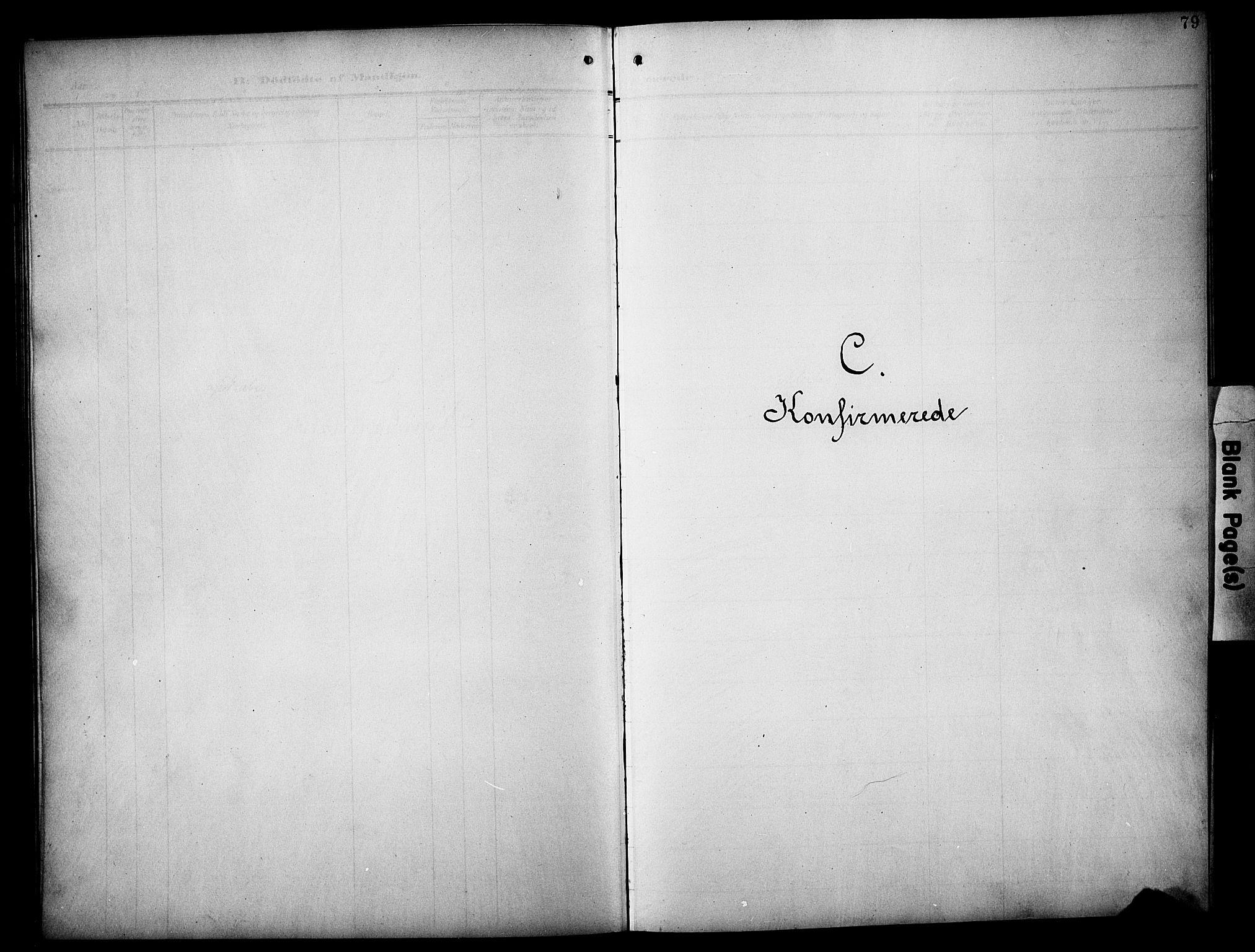 SAH, Øyer prestekontor, Klokkerbok nr. 6, 1906-1929, s. 79