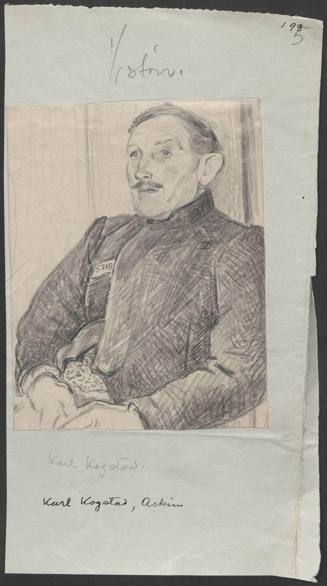 RA, Grøgaard, Joachim, F/L0002: Tegninger og tekster, 1942-1945, s. 69