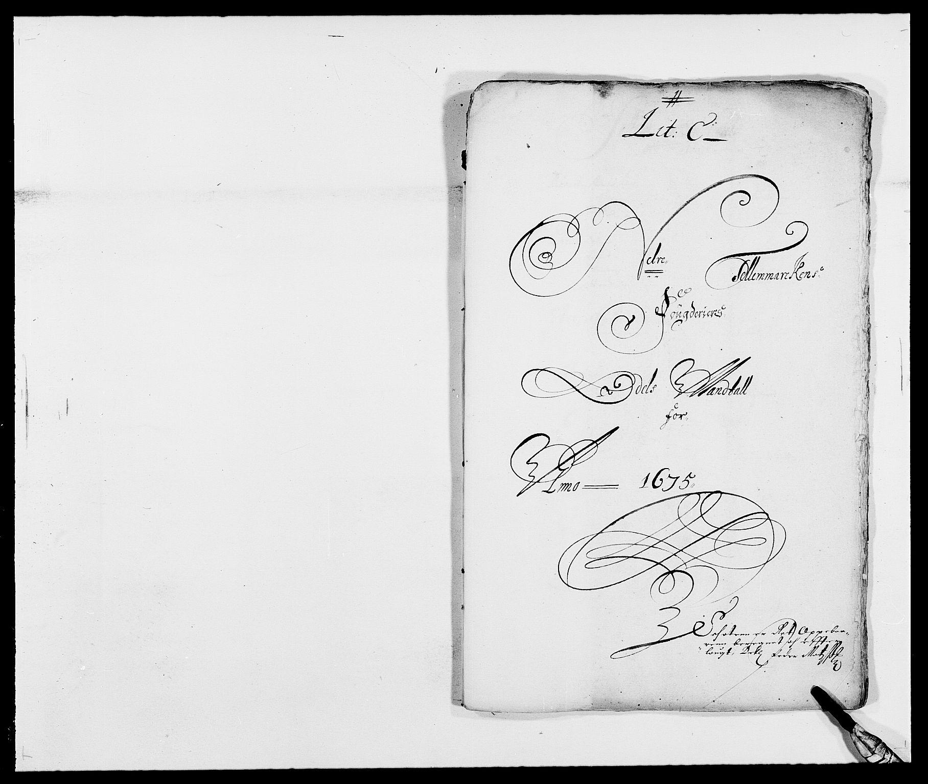 RA, Rentekammeret inntil 1814, Reviderte regnskaper, Fogderegnskap, R35/L2063: Fogderegnskap Øvre og Nedre Telemark, 1675, s. 72