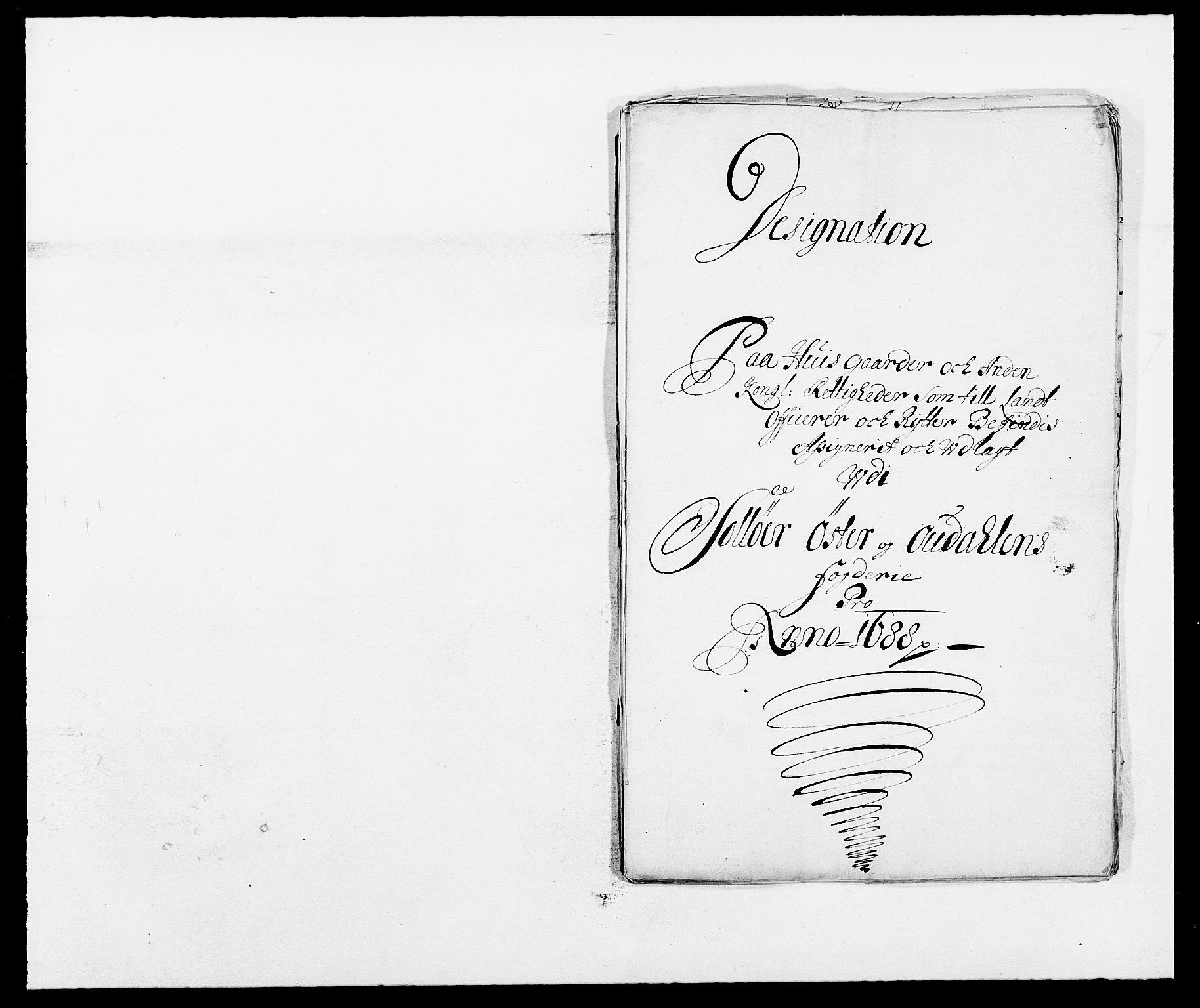 RA, Rentekammeret inntil 1814, Reviderte regnskaper, Fogderegnskap, R13/L0825: Fogderegnskap Solør, Odal og Østerdal, 1688, s. 259