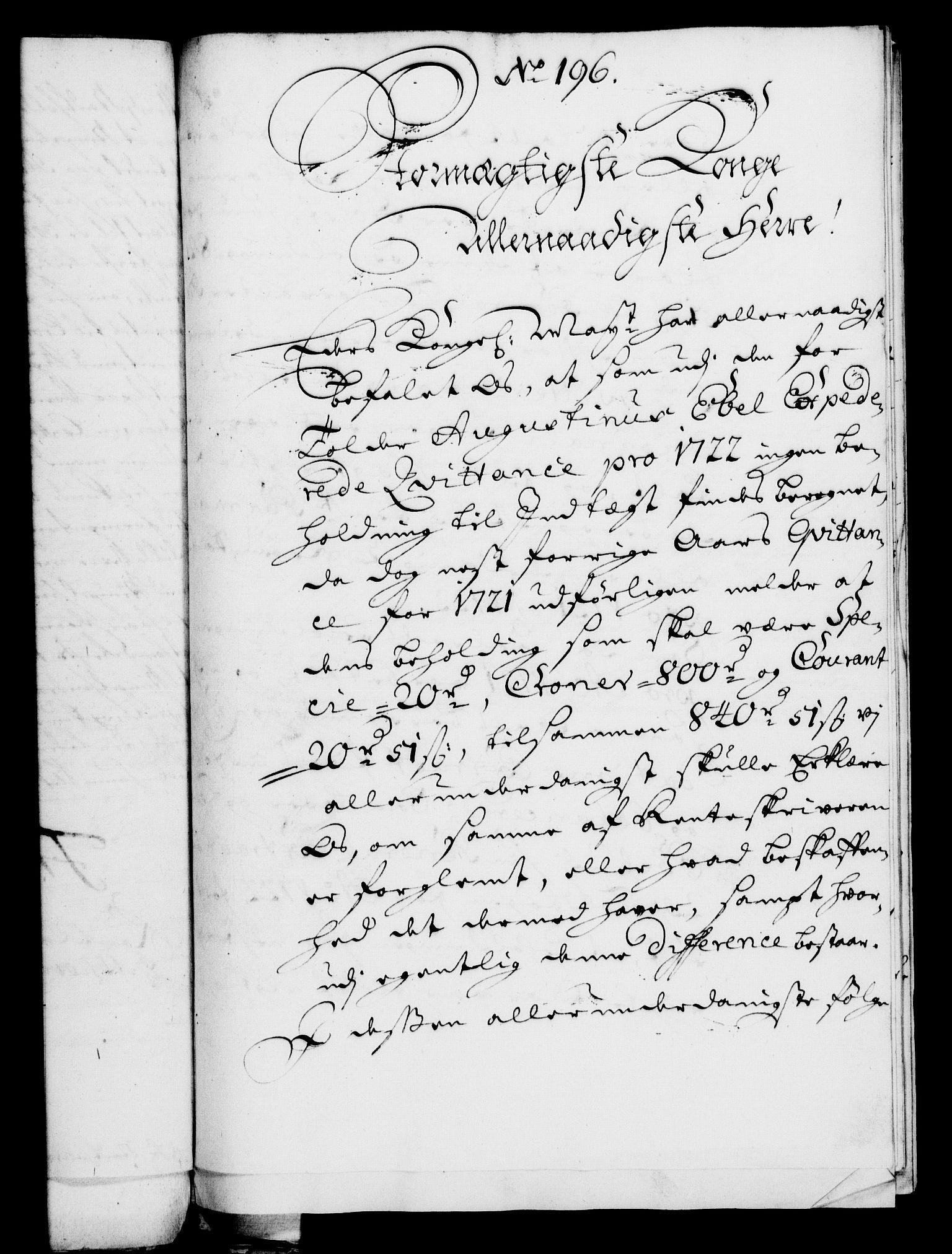 RA, Rentekammeret, Kammerkanselliet, G/Gf/Gfa/L0006: Norsk relasjons- og resolusjonsprotokoll (merket RK 52.6), 1723, s. 1181