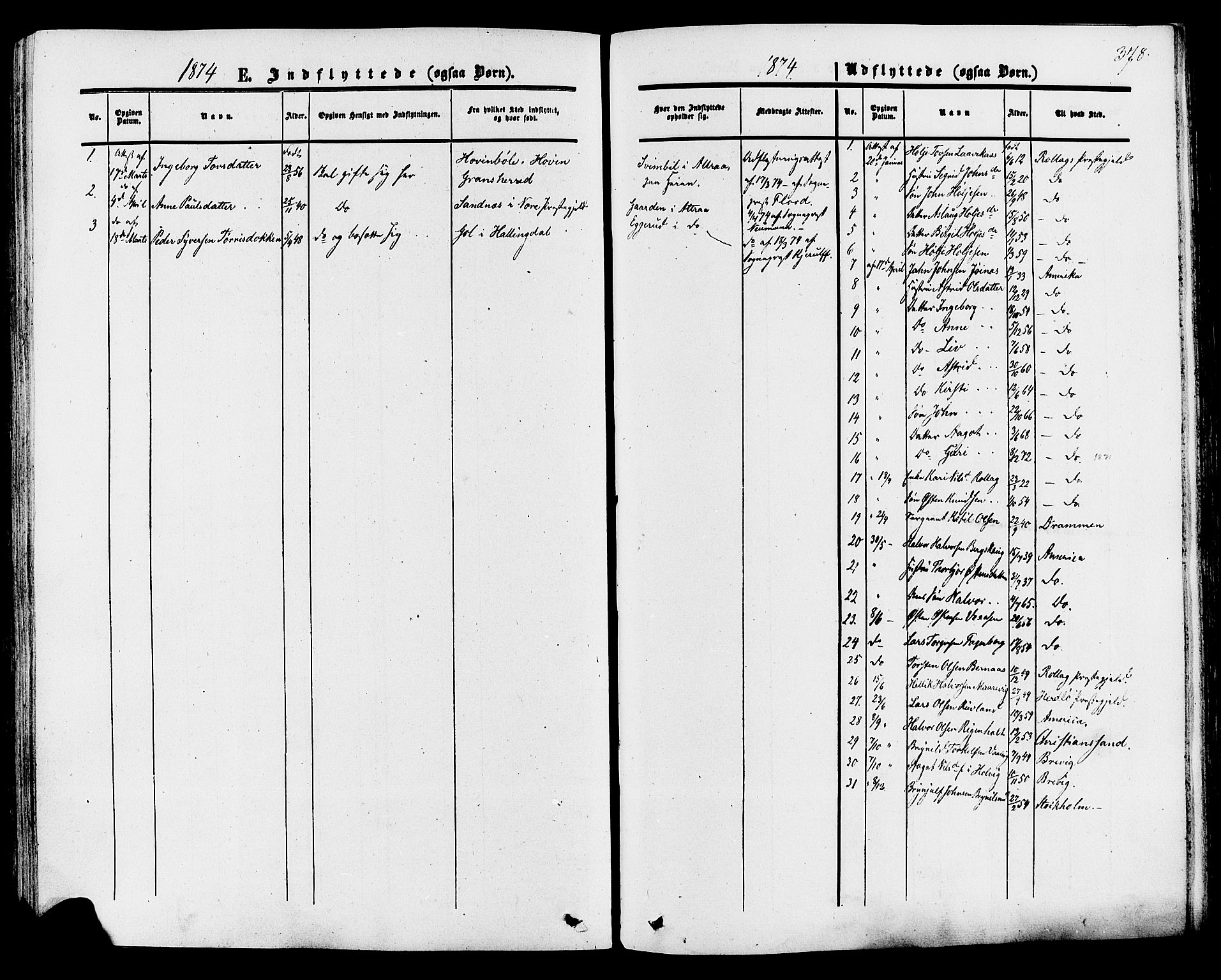 SAKO, Tinn kirkebøker, F/Fa/L0006: Ministerialbok nr. I 6, 1857-1878, s. 378