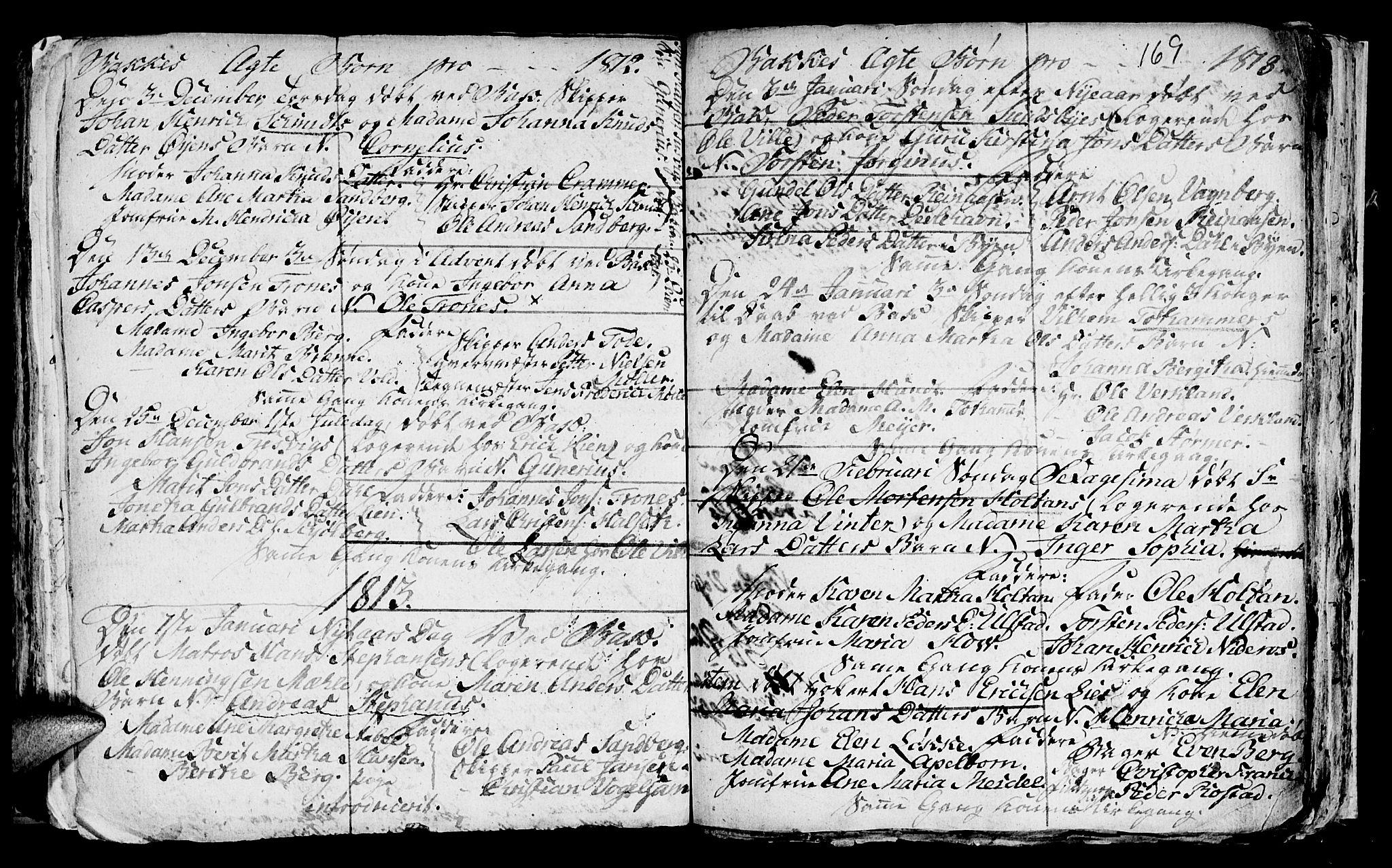SAT, Ministerialprotokoller, klokkerbøker og fødselsregistre - Sør-Trøndelag, 604/L0218: Klokkerbok nr. 604C01, 1754-1819, s. 169