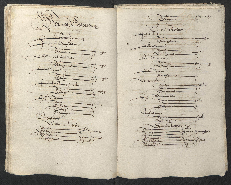 RA, Stattholderembetet 1572-1771, Ek/L0003: Jordebøker til utlikning av garnisonsskatt 1624-1626:, 1624-1625, s. 137