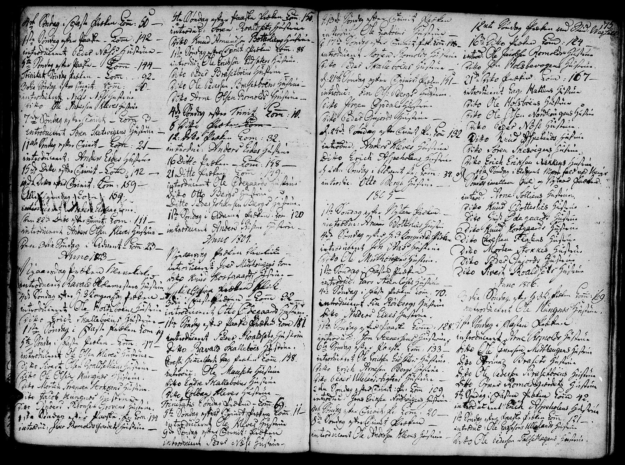 SAT, Ministerialprotokoller, klokkerbøker og fødselsregistre - Møre og Romsdal, 555/L0650: Ministerialbok nr. 555A02 /2, 1798-1821, s. 75