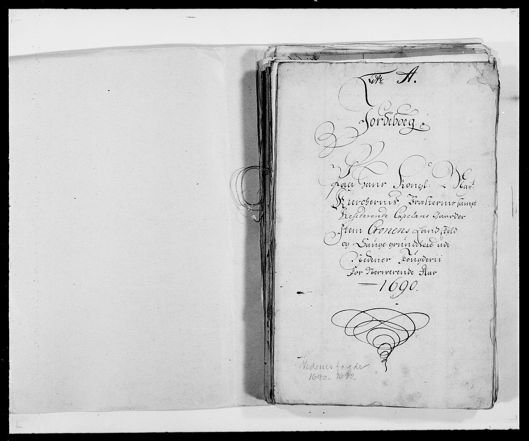 RA, Rentekammeret inntil 1814, Reviderte regnskaper, Fogderegnskap, R39/L2310: Fogderegnskap Nedenes, 1690-1692, s. 104