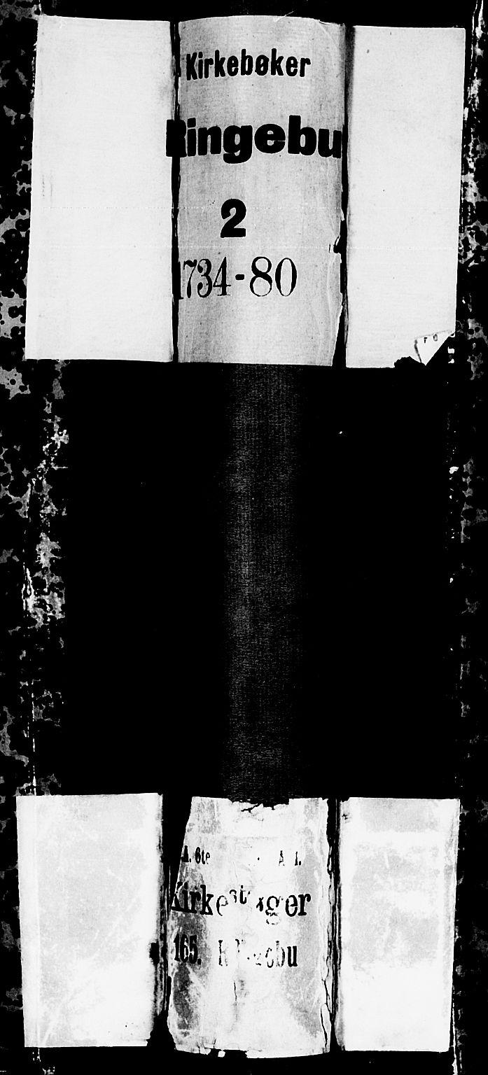 SAH, Ringebu prestekontor, Ministerialbok nr. 2, 1734-1780