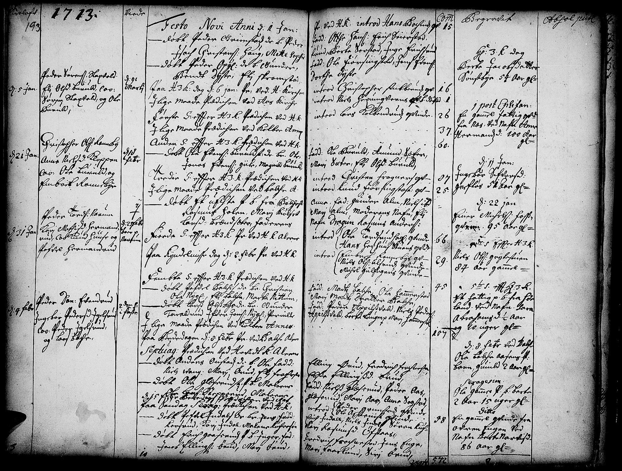 SAH, Toten prestekontor, Ministerialbok nr. 1, 1695-1713, s. 193