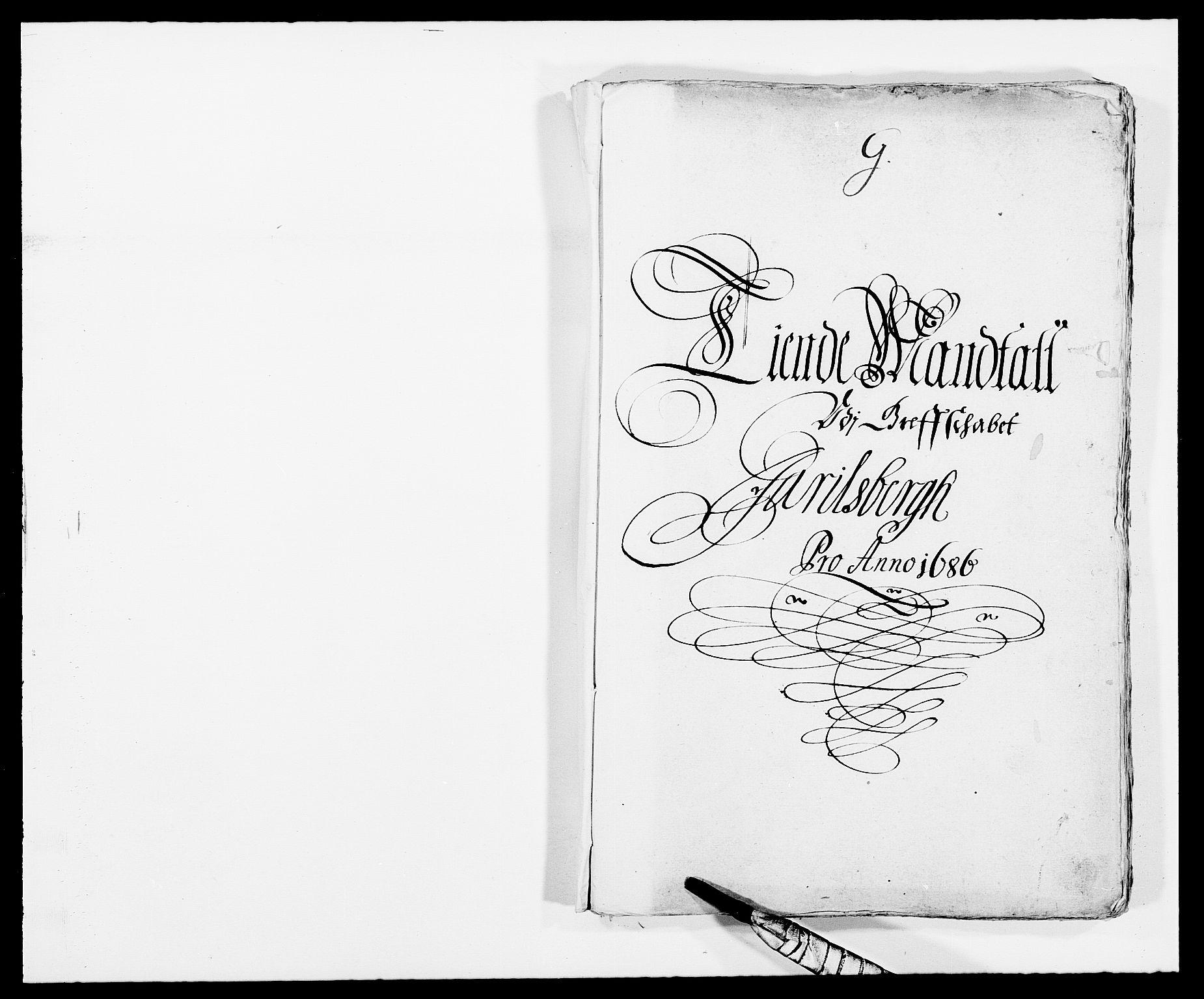 RA, Rentekammeret inntil 1814, Reviderte regnskaper, Fogderegnskap, R32/L1857: Fogderegnskap Jarlsberg grevskap, 1686-1690, s. 296