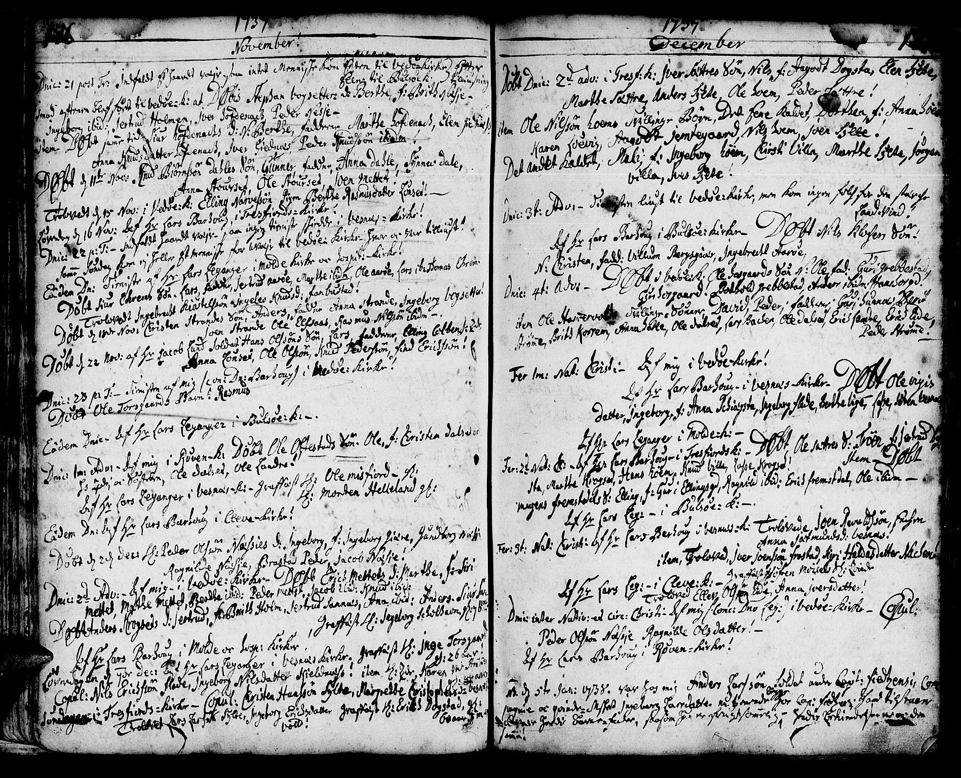 SAT, Ministerialprotokoller, klokkerbøker og fødselsregistre - Møre og Romsdal, 547/L0599: Ministerialbok nr. 547A01, 1721-1764, s. 178-179