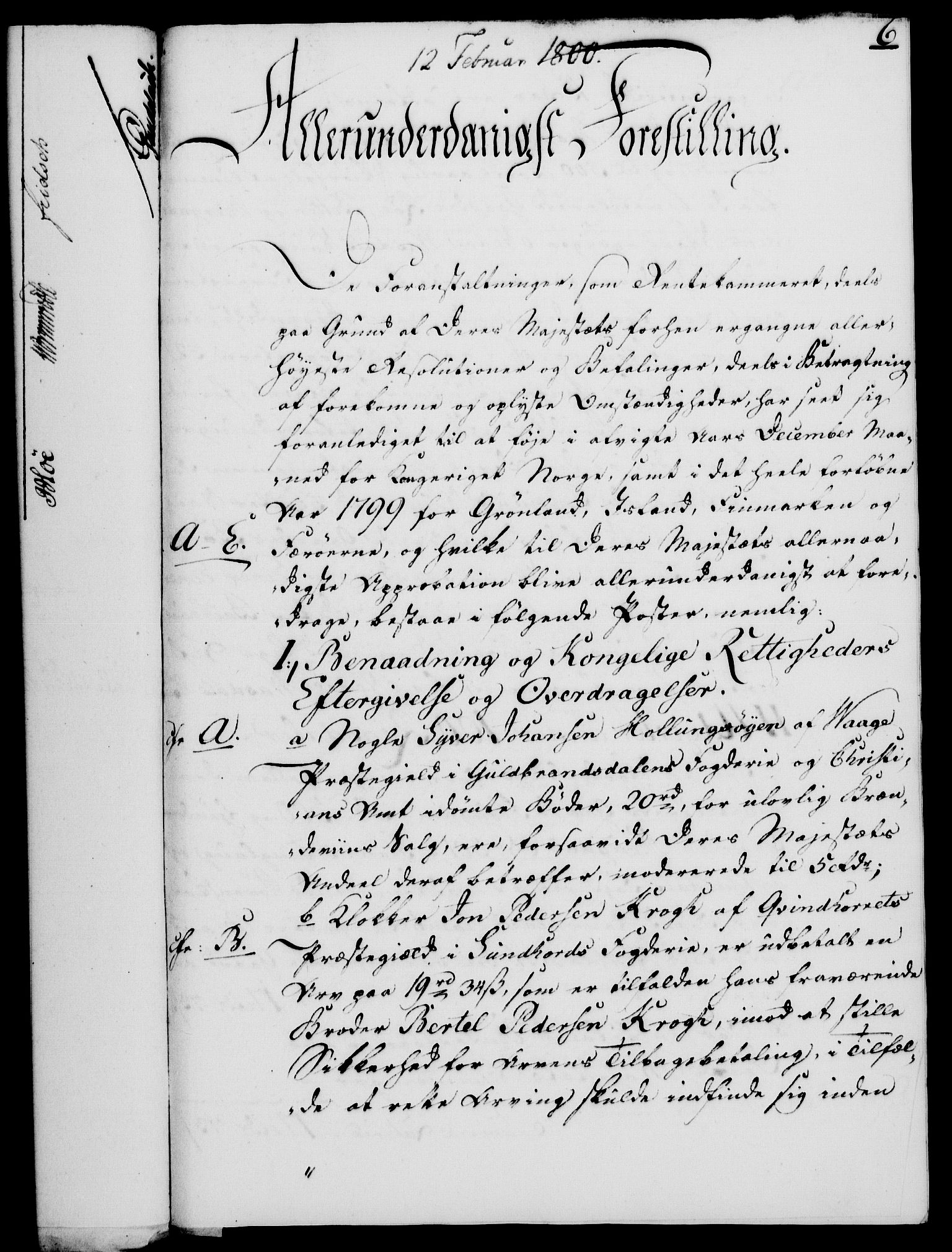 RA, Rentekammeret, Kammerkanselliet, G/Gf/Gfa/L0082: Norsk relasjons- og resolusjonsprotokoll (merket RK 52.82), 1800, s. 65