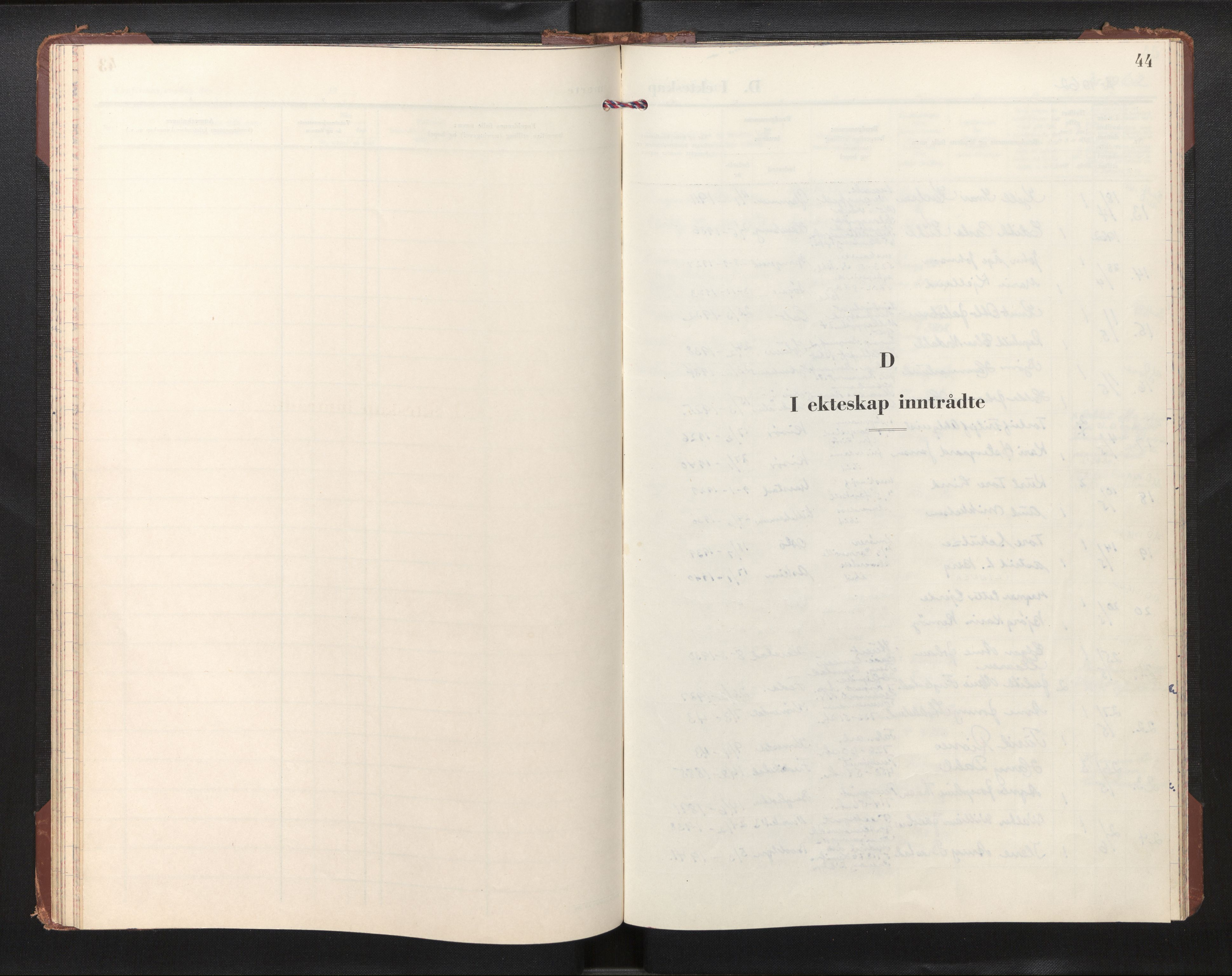 SAB, Privatarkiv 110 - Den norske sjømannsmisjon i utlandet/New York, H/Ha/L0013: Ministerialbok nr. A 13, 1962-1966, s. 43b-44a