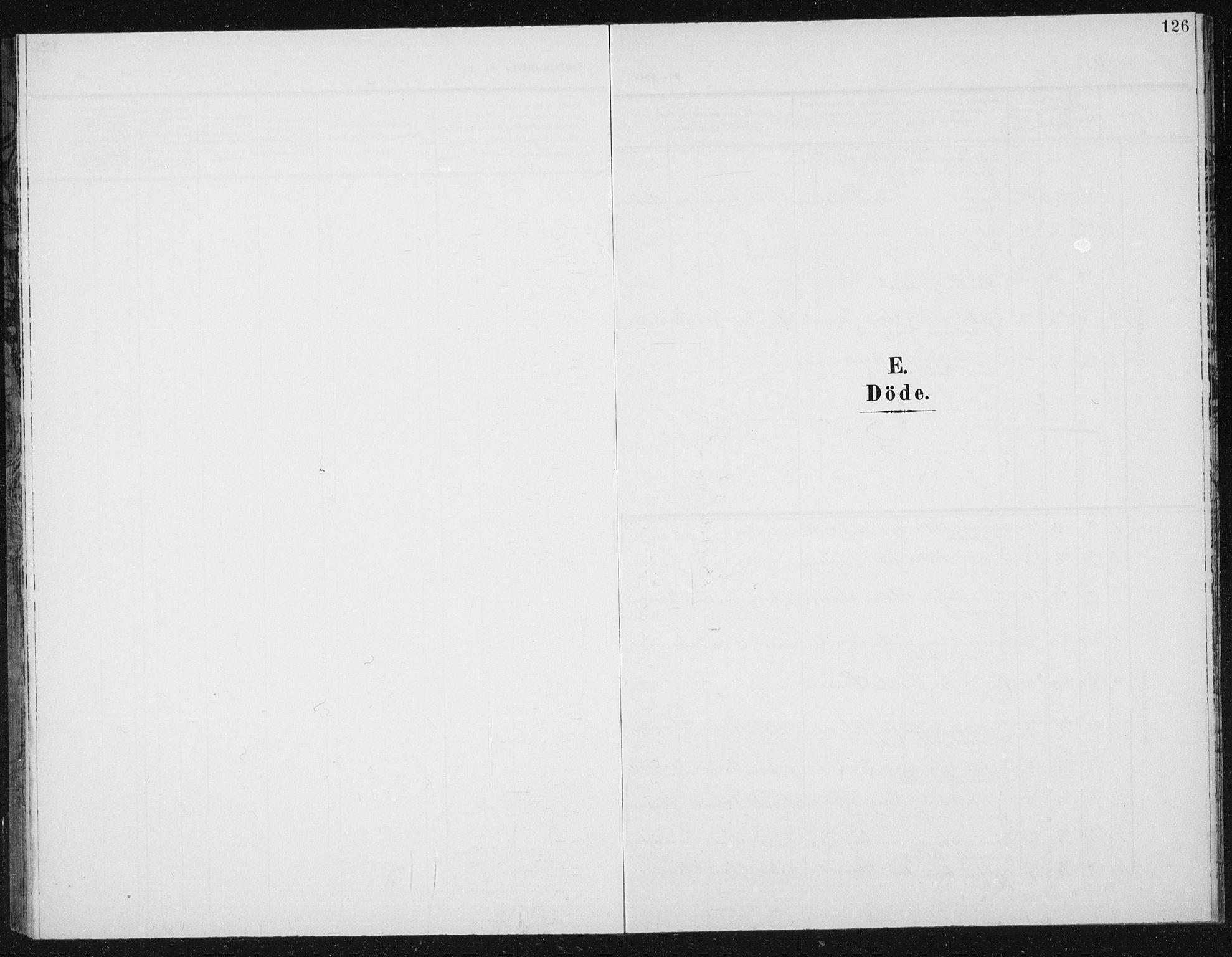 SAT, Ministerialprotokoller, klokkerbøker og fødselsregistre - Sør-Trøndelag, 656/L0699: Klokkerbok nr. 656C05, 1905-1920, s. 126