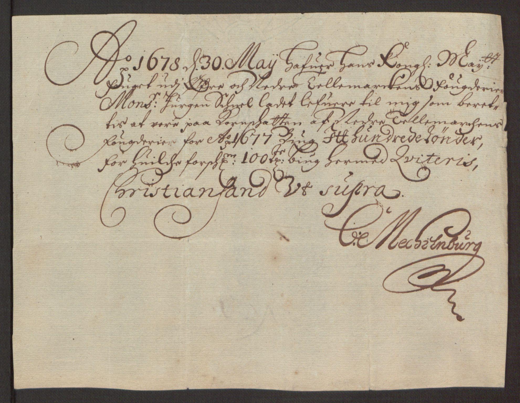 RA, Rentekammeret inntil 1814, Reviderte regnskaper, Fogderegnskap, R35/L2069: Fogderegnskap Øvre og Nedre Telemark, 1678, s. 244