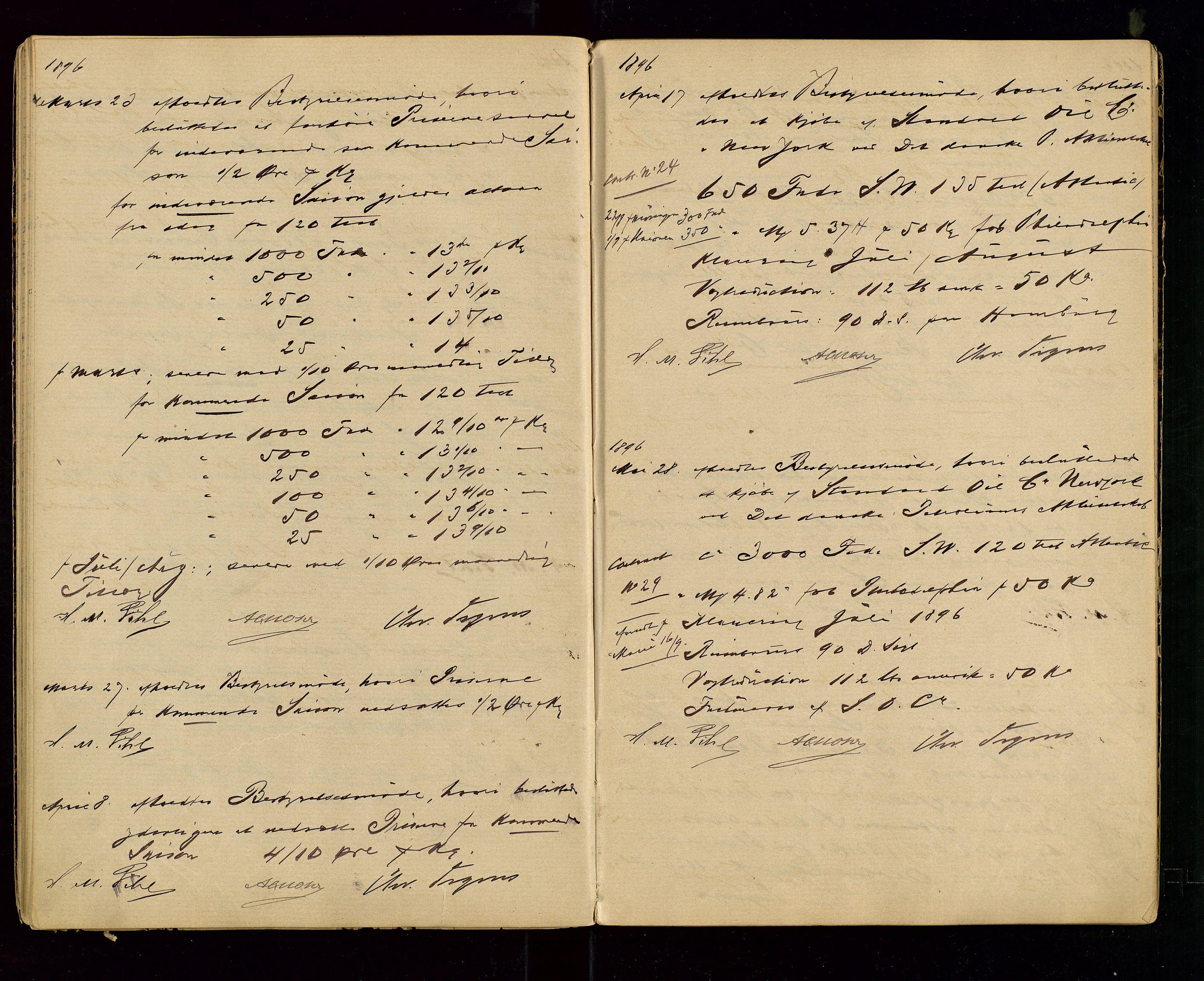 SAST, PA 1533 - A/S Vestlandske Petroleumscompani, A/Aa/L0001: Generalforsamlinger og styreprotokoller, 1890-1907, s. 26
