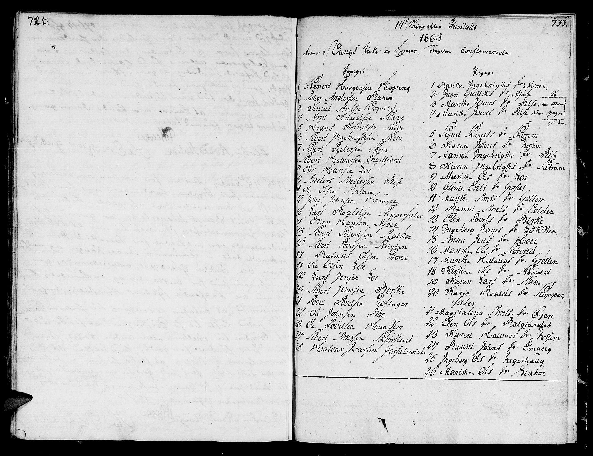SAT, Ministerialprotokoller, klokkerbøker og fødselsregistre - Sør-Trøndelag, 678/L0893: Ministerialbok nr. 678A03, 1792-1805, s. 724-733