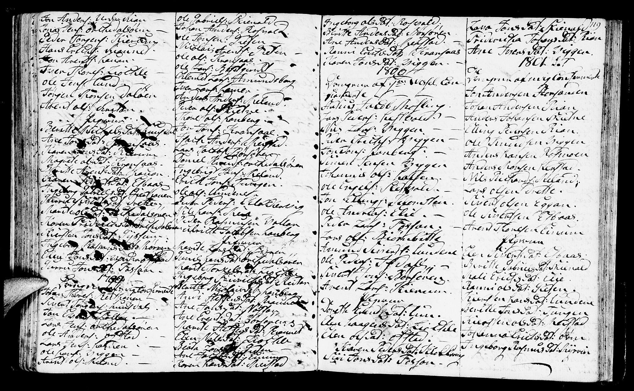 SAT, Ministerialprotokoller, klokkerbøker og fødselsregistre - Sør-Trøndelag, 665/L0768: Ministerialbok nr. 665A03, 1754-1803, s. 119