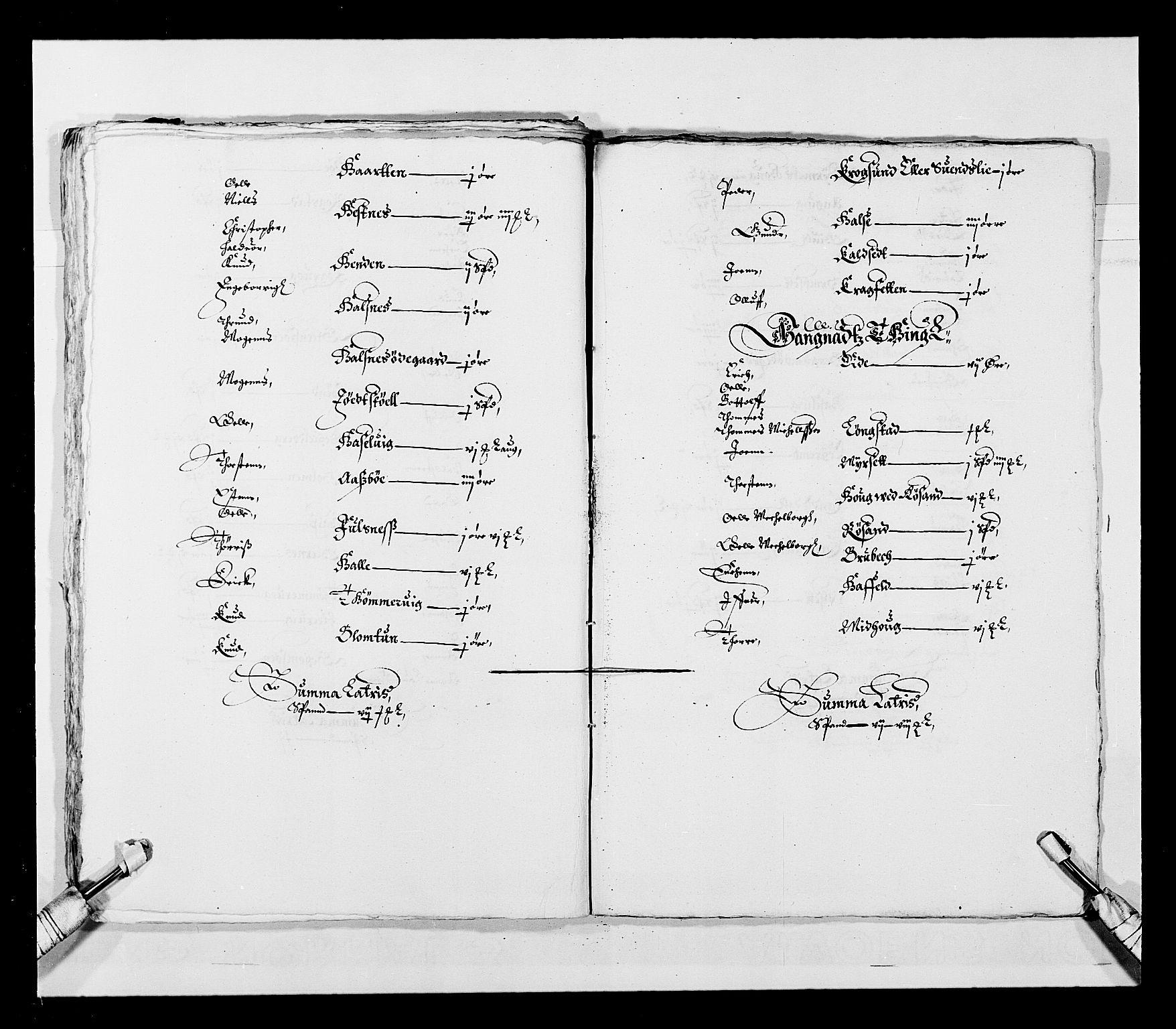 RA, Stattholderembetet 1572-1771, Ek/L0028: Jordebøker 1633-1658:, 1645-1646, s. 39