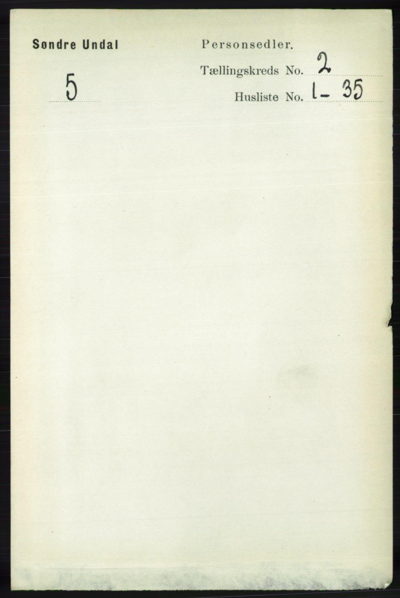 RA, Folketelling 1891 for 1029 Sør-Audnedal herred, 1891, s. 406