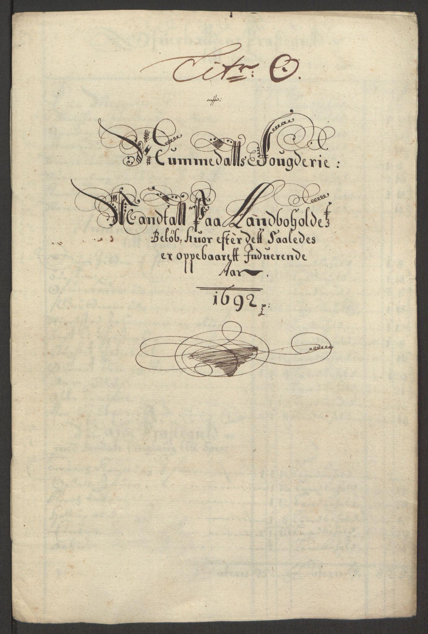 RA, Rentekammeret inntil 1814, Reviderte regnskaper, Fogderegnskap, R64/L4424: Fogderegnskap Namdal, 1692-1695, s. 95