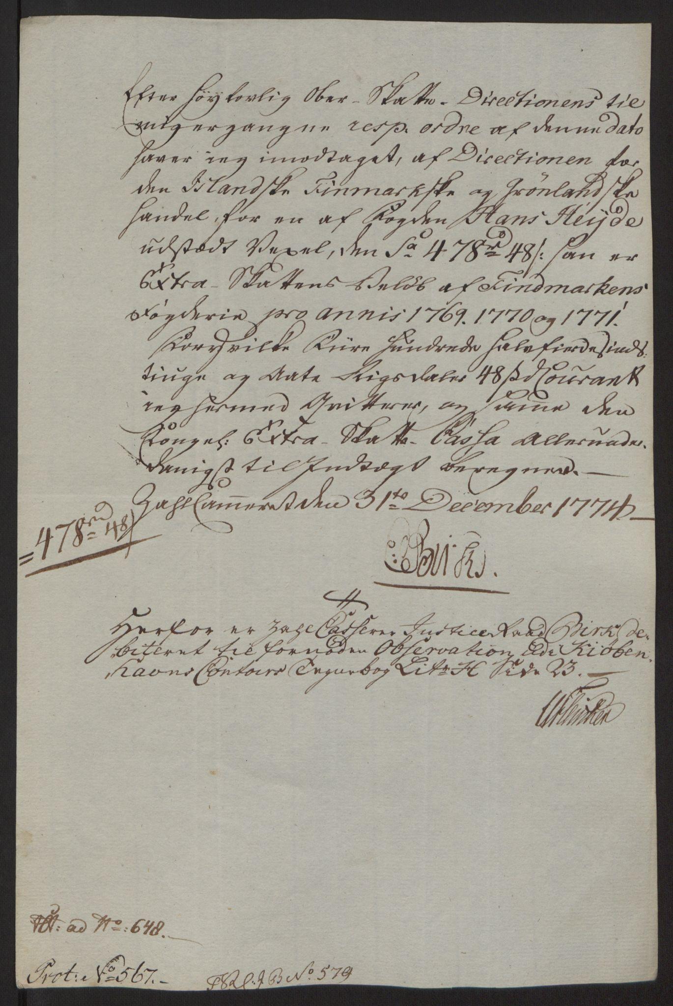 RA, Rentekammeret inntil 1814, Reviderte regnskaper, Fogderegnskap, R69/L4910: Ekstraskatten  Finnmark/Vardøhus, 1762-1772, s. 489