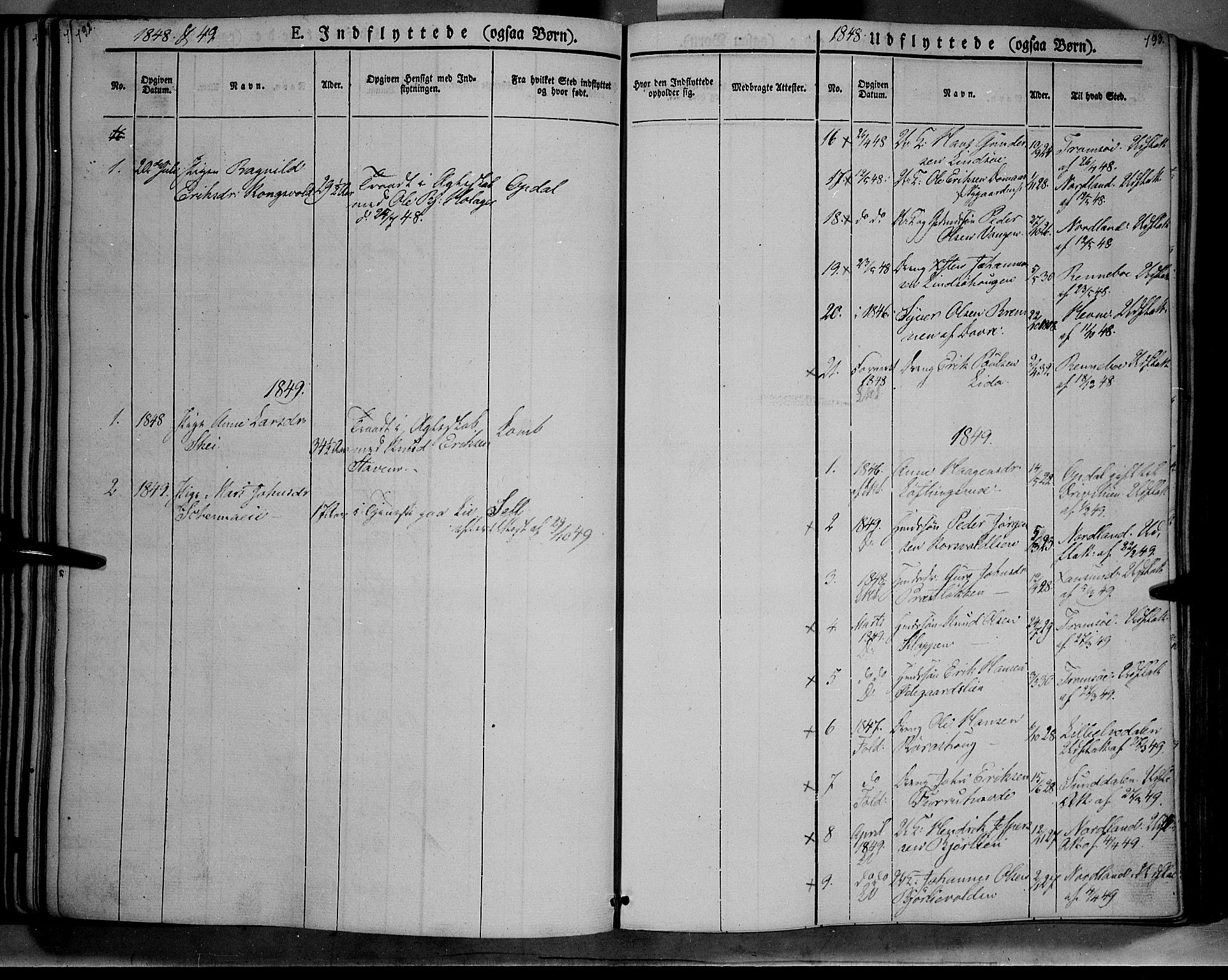 SAH, Lesja prestekontor, Ministerialbok nr. 6B, 1843-1854, s. 792-793
