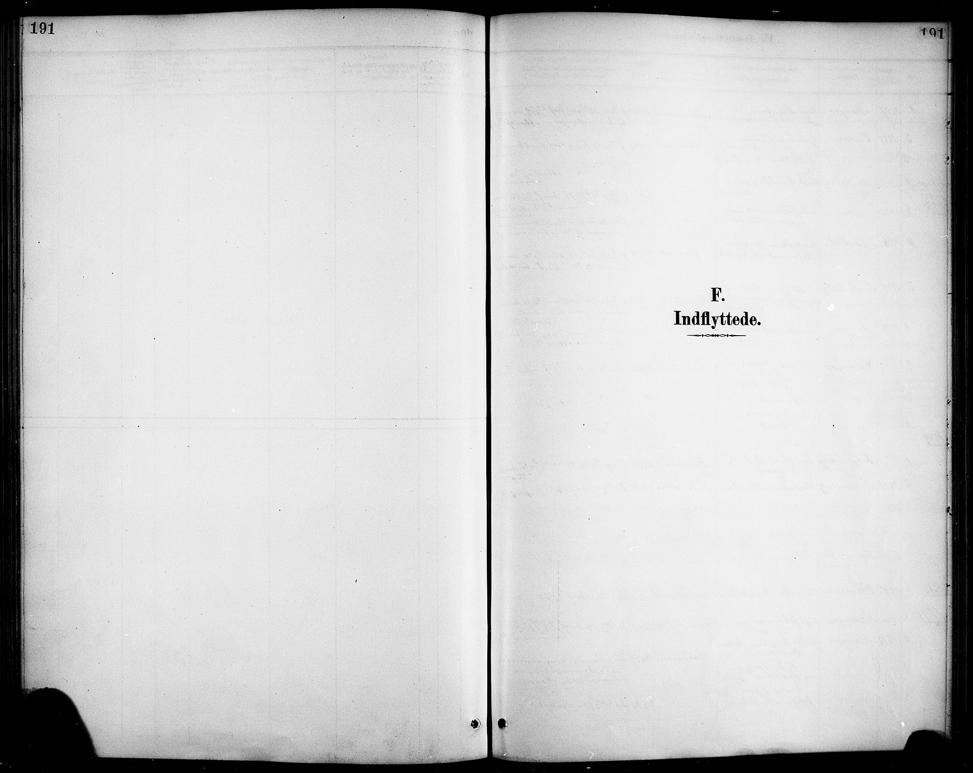 SAB, Haus sokneprestembete, H/Haa: Ministerialbok nr. D 1, 1887-1898, s. 191