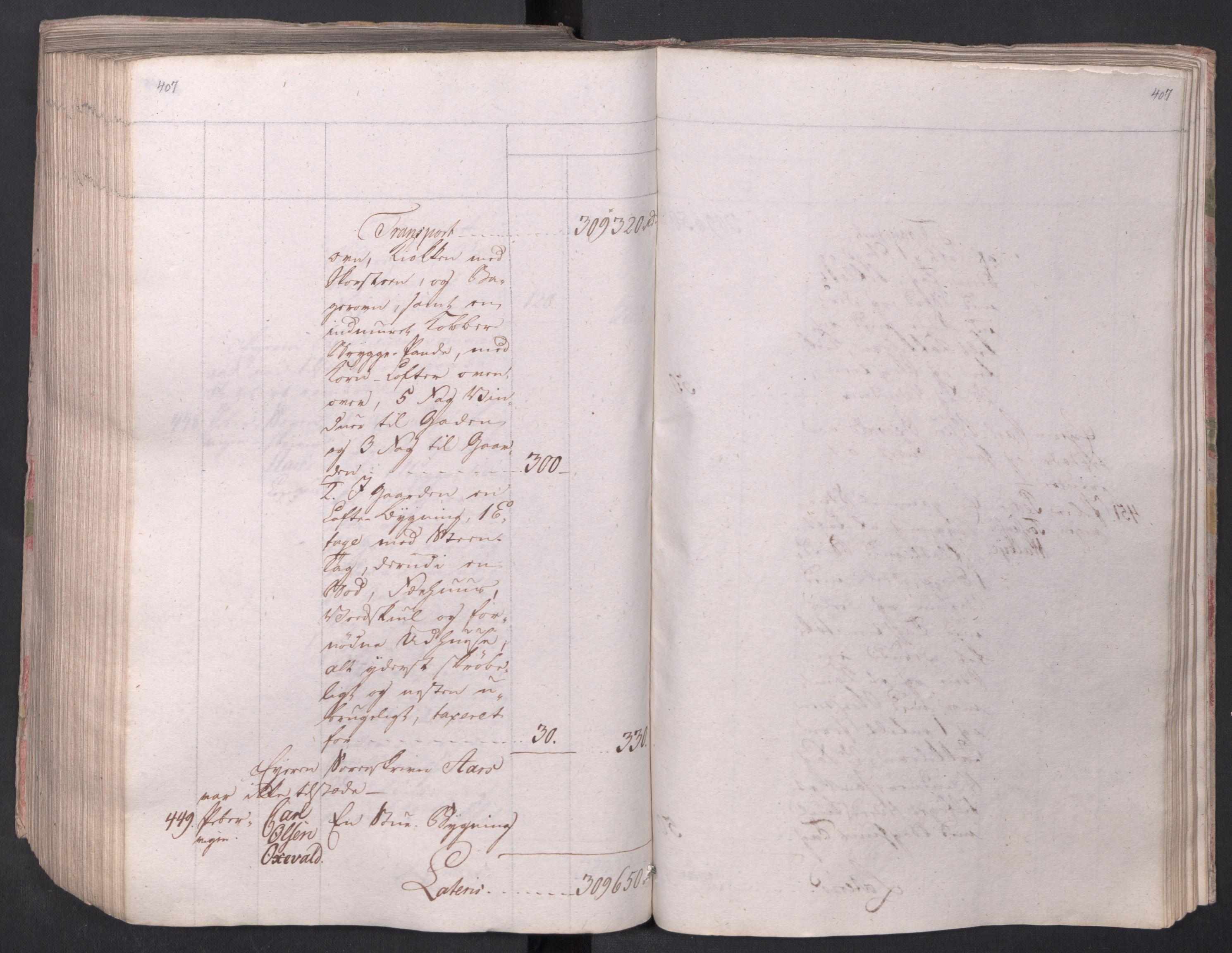 SAO, Kristiania stiftamt, I/Ia/L0015: Branntakster, 1797, s. 407