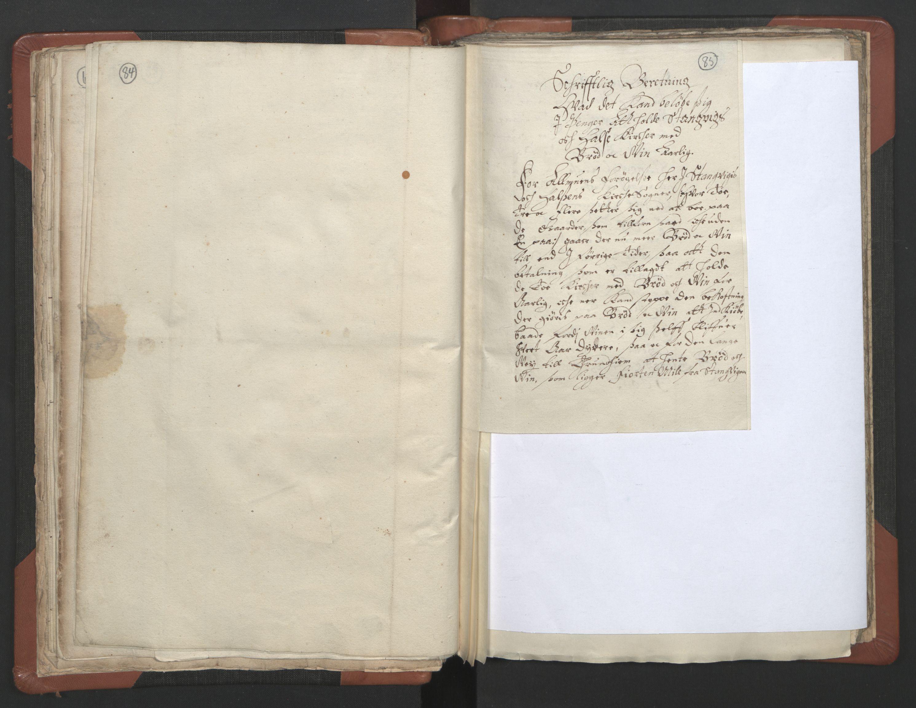 RA, Sogneprestenes manntall 1664-1666, nr. 29: Nordmøre prosti, 1664-1666, s. 84-85
