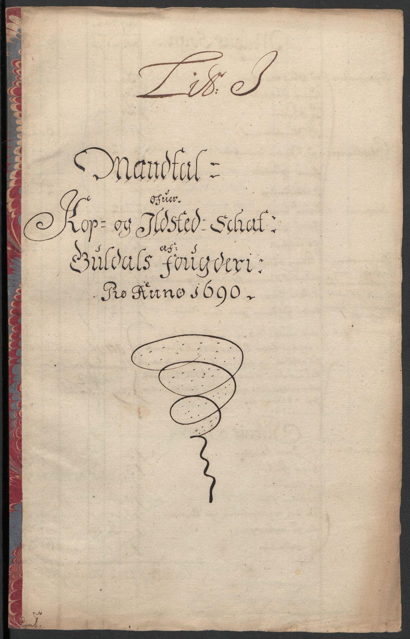 RA, Rentekammeret inntil 1814, Reviderte regnskaper, Fogderegnskap, R59/L3940: Fogderegnskap Gauldal, 1689-1690, s. 308