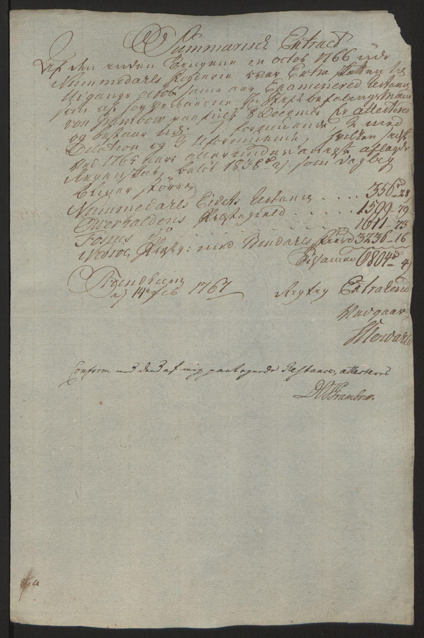 RA, Rentekammeret inntil 1814, Reviderte regnskaper, Fogderegnskap, R64/L4502: Ekstraskatten Namdal, 1762-1772, s. 229